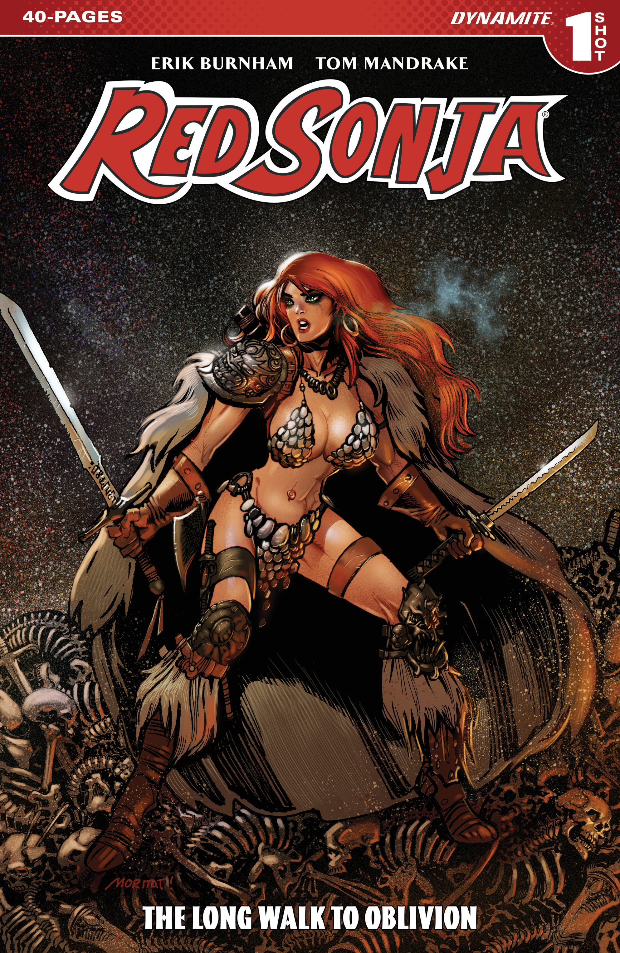 Read online Red Sonja: The Long Walk To Oblivion comic -  Issue # Full - 1
