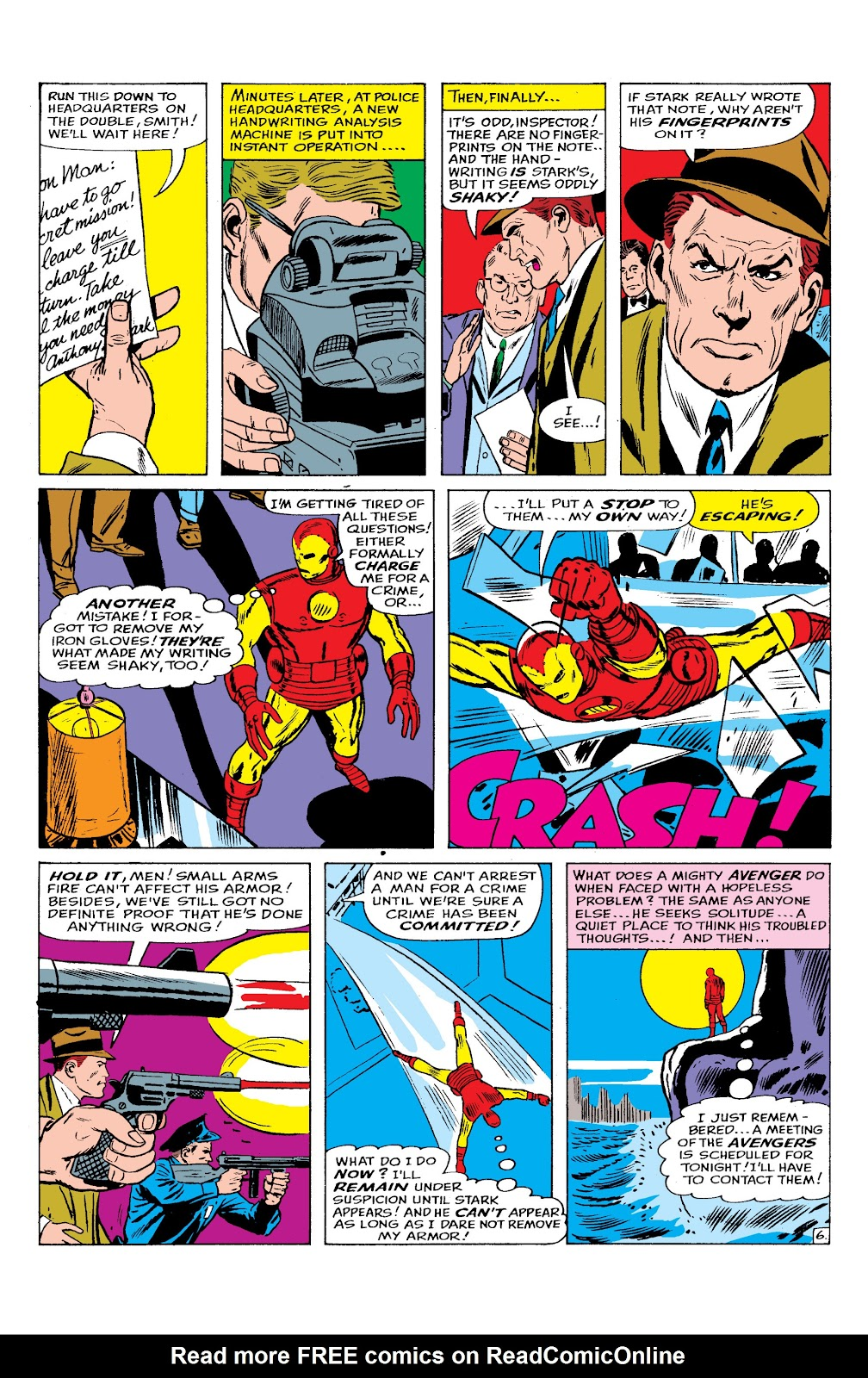 Read online Marvel Masterworks: The Invincible Iron Man comic -  Issue # TPB 2 (Part 2) - 62