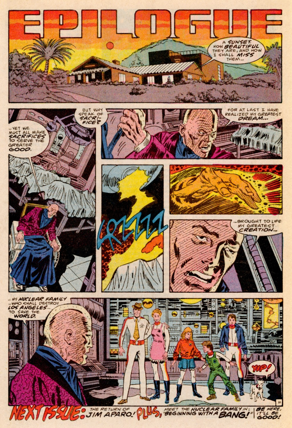 Read online Adventures of the Outsiders comic -  Issue #38 - 23