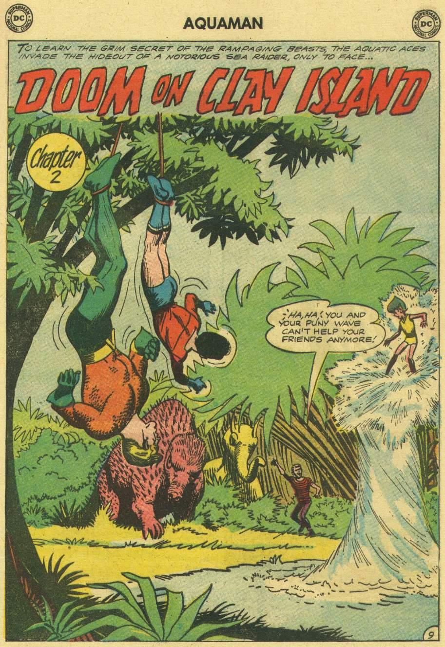 Read online Aquaman (1962) comic -  Issue #7 - 13