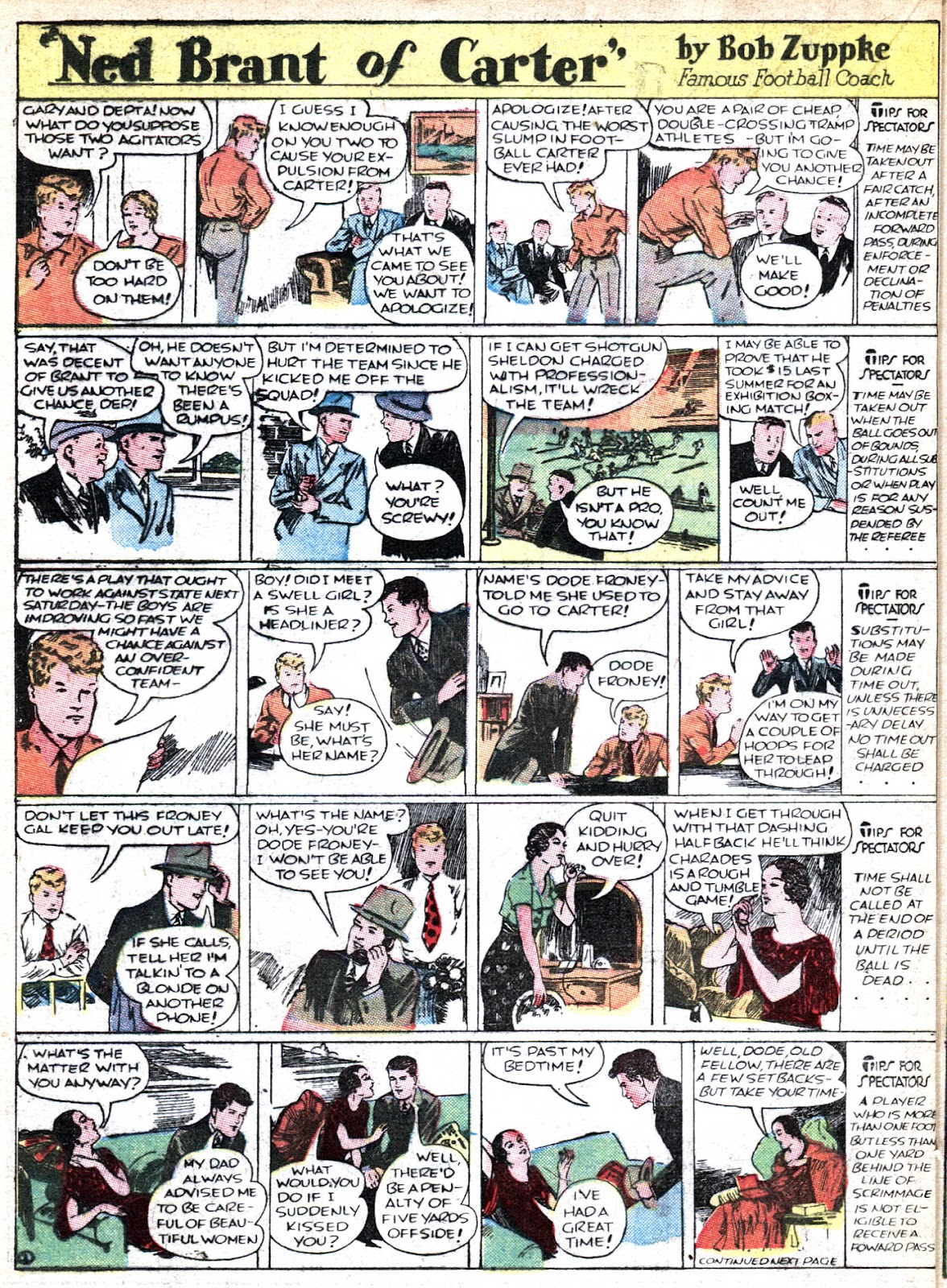 Read online Famous Funnies comic -  Issue #36 - 38