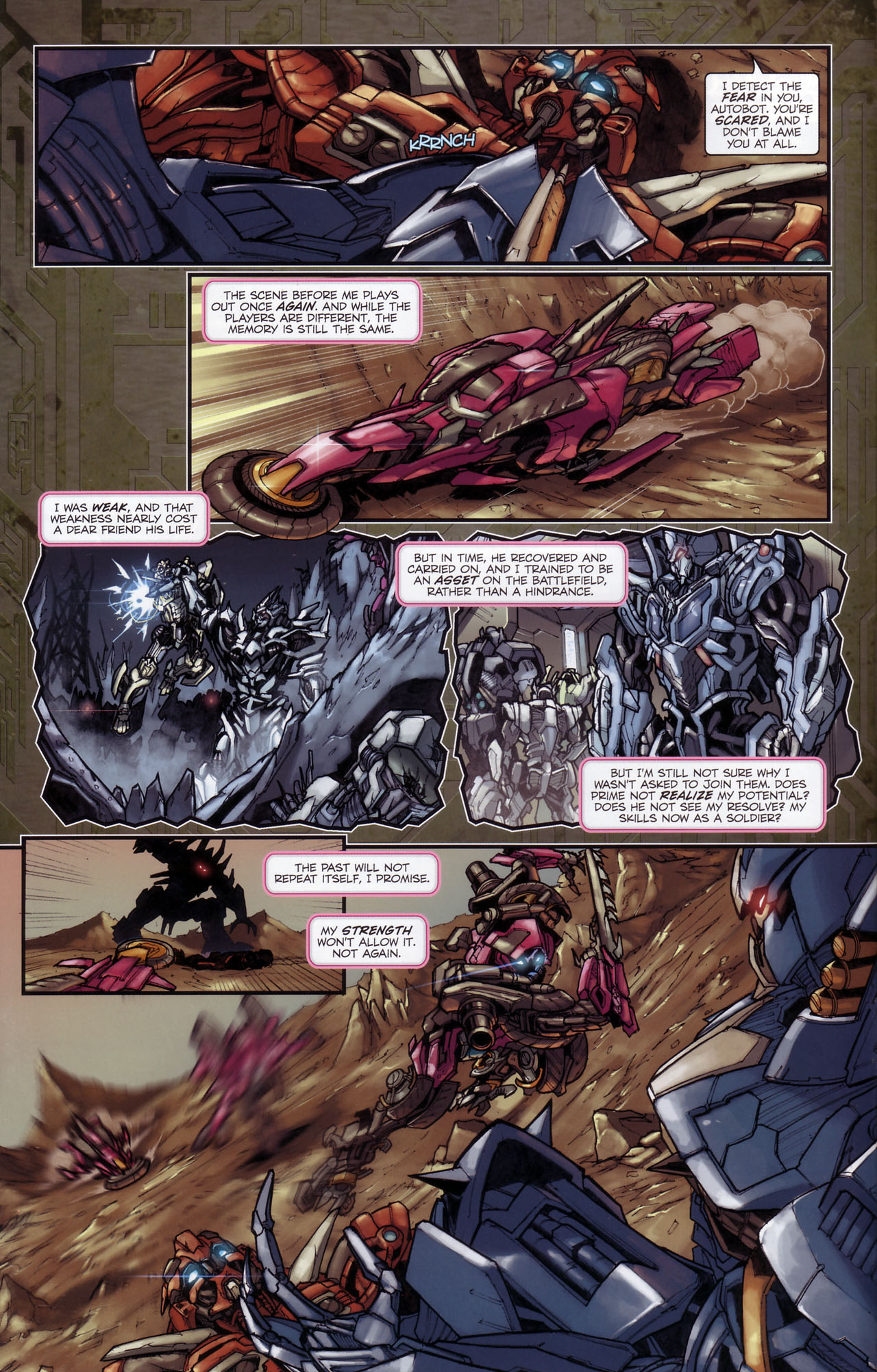 Read online Transformers: The Reign of Starscream comic -  Issue #3 - 11