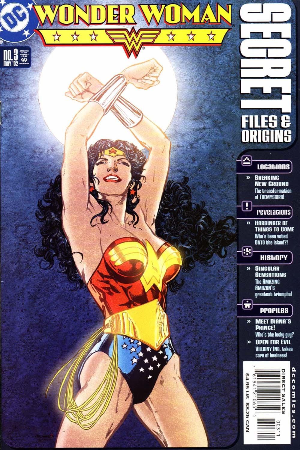 Wonder Woman Secret Files 3 Page 1