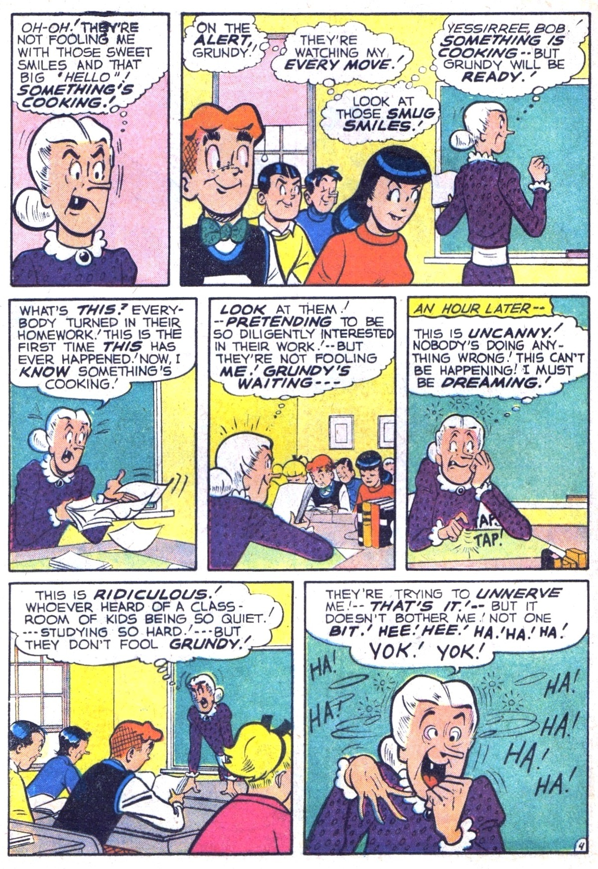 Read online Archie (1960) comic -  Issue #116 - 16