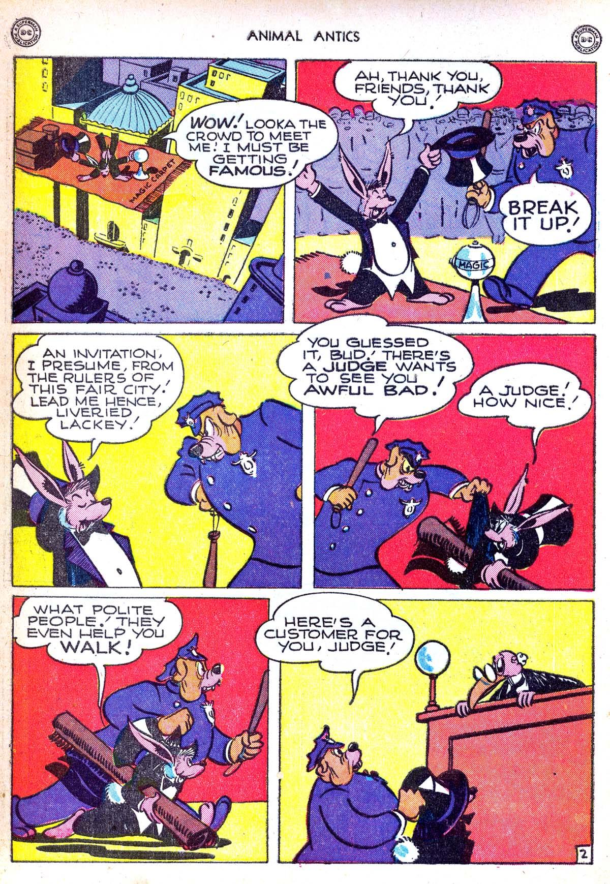 Read online Animal Antics comic -  Issue #6 - 4