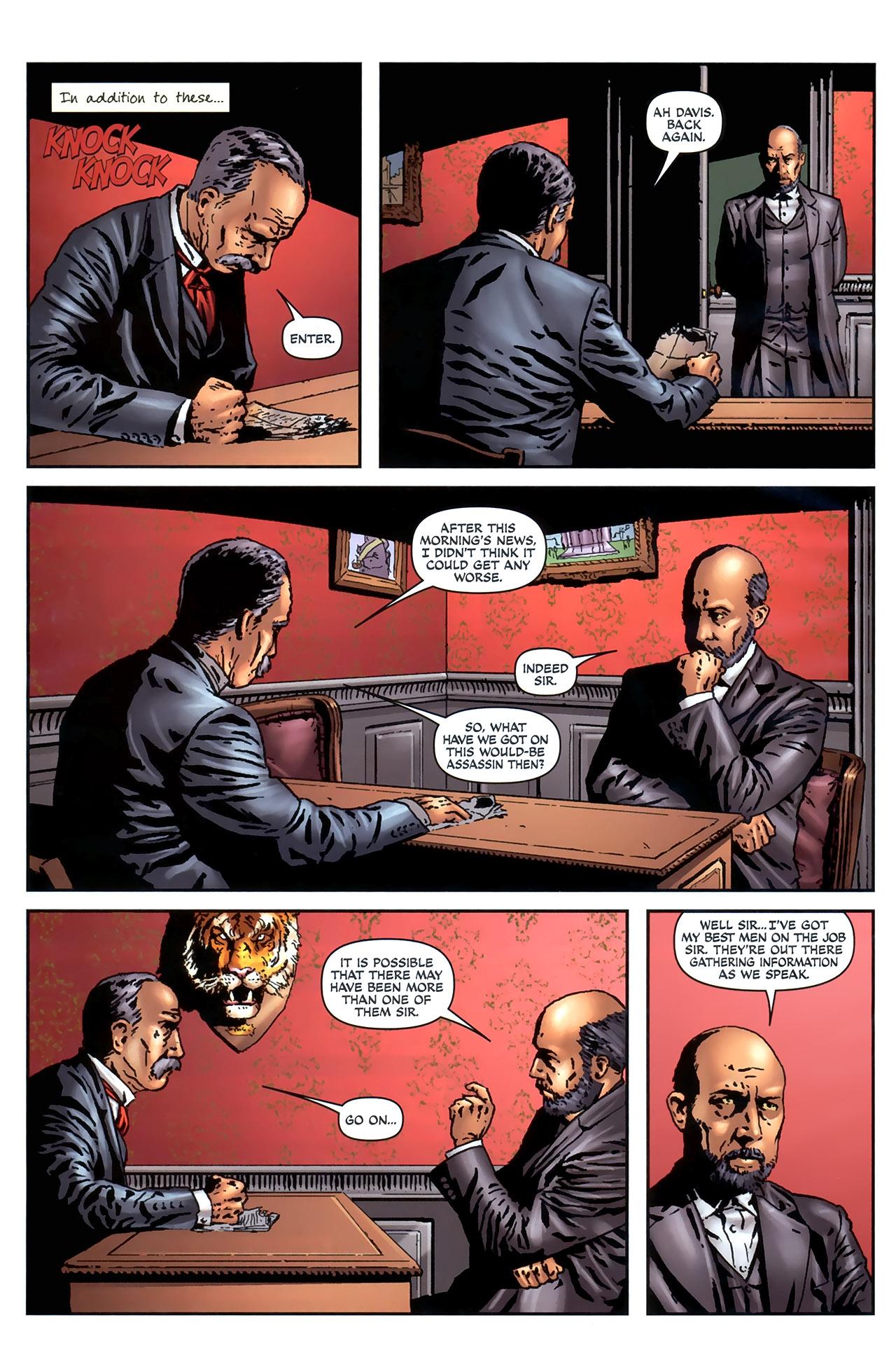 Read online Sherlock Holmes (2009) comic -  Issue #4 - 4