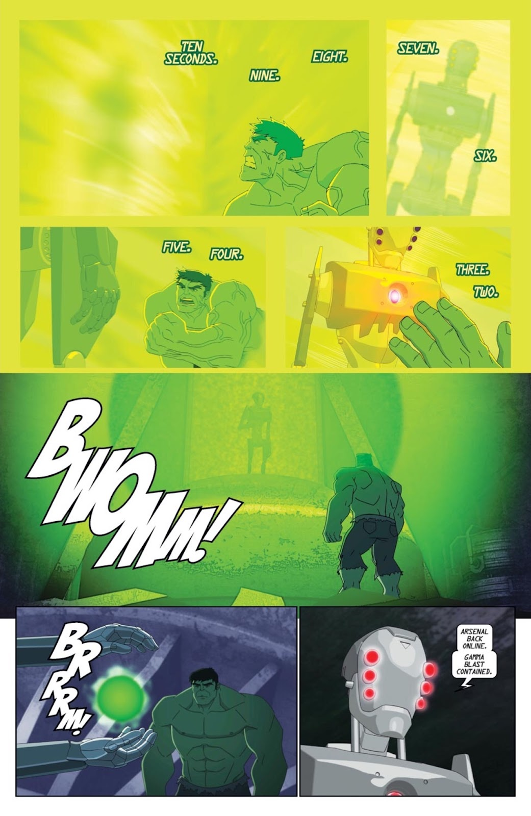 Read online Marvel Universe Avengers Assemble Season 2 comic -  Issue #1 - 16