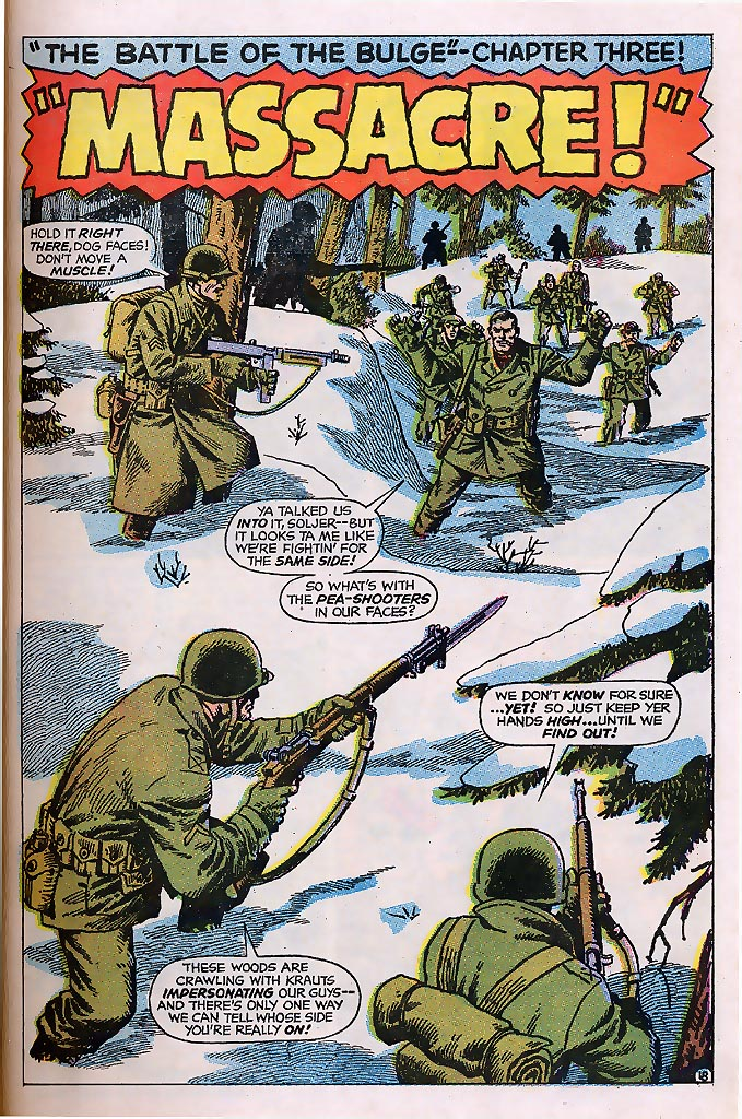 Read online Sgt. Fury comic -  Issue # _Special 4 - 23