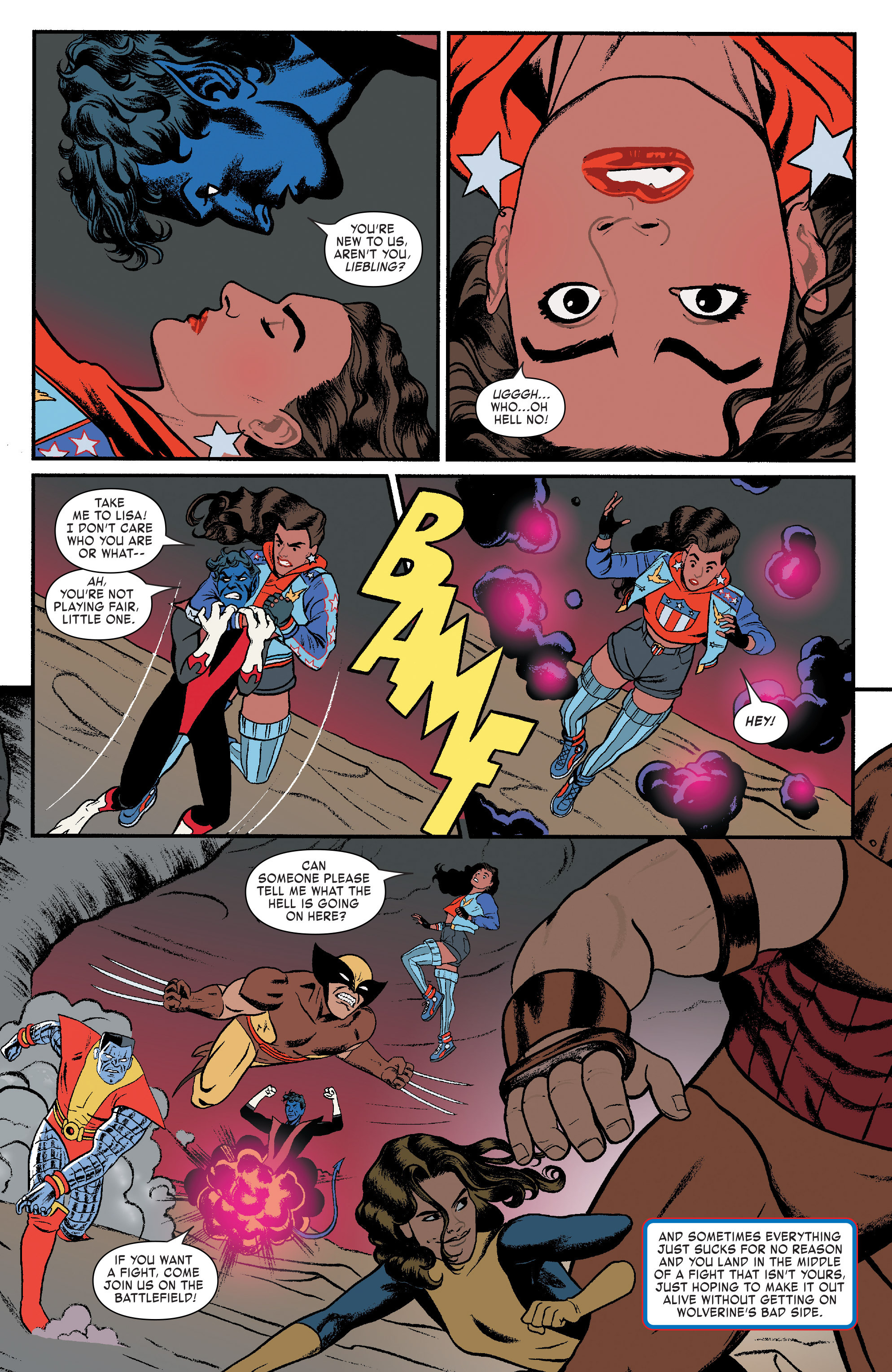 Read online America (2016) comic -  Issue #3 - 7
