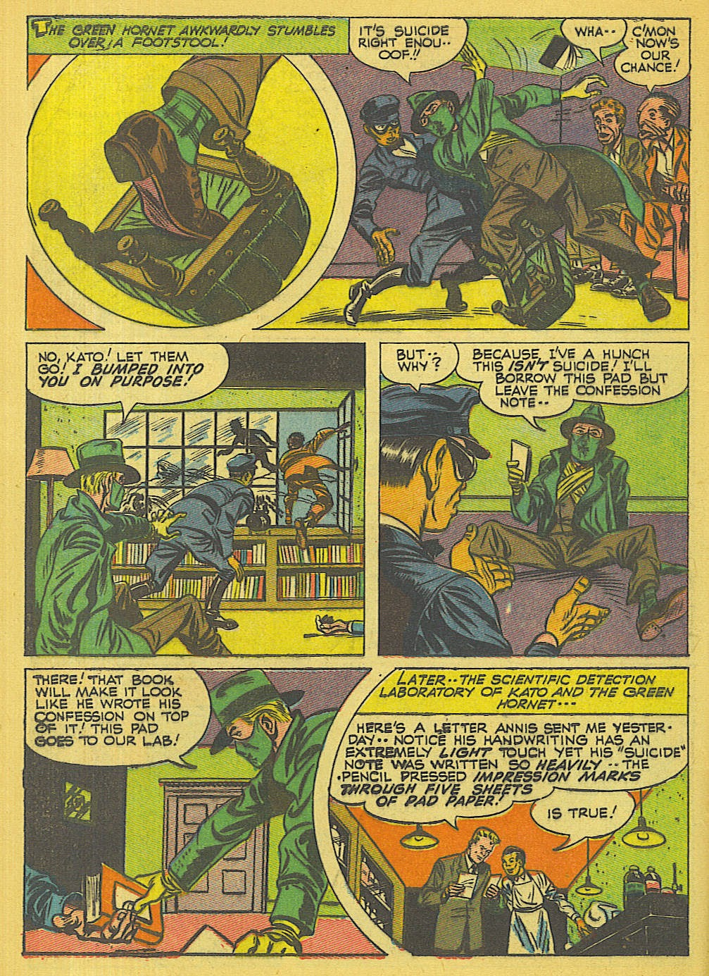Green Hornet Comics issue 32 - Page 9