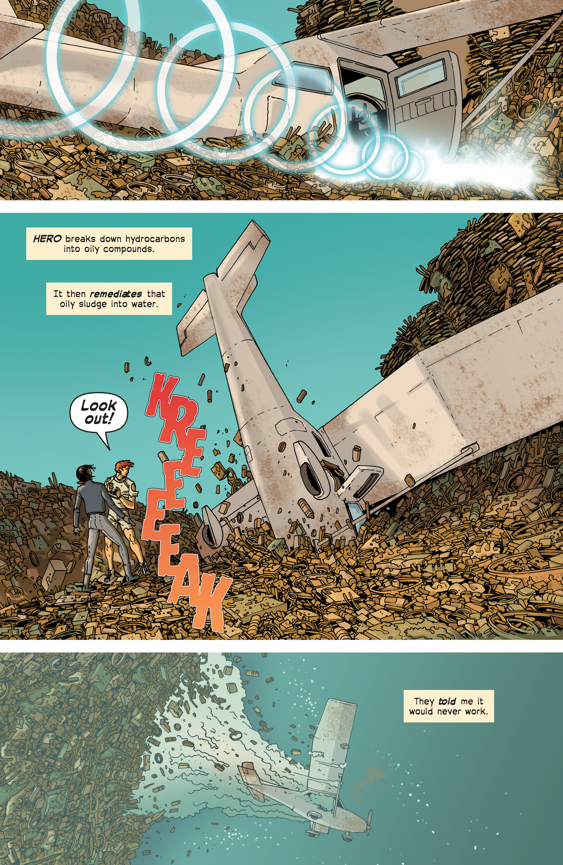 Read online Great Pacific comic -  Issue #3 - 22