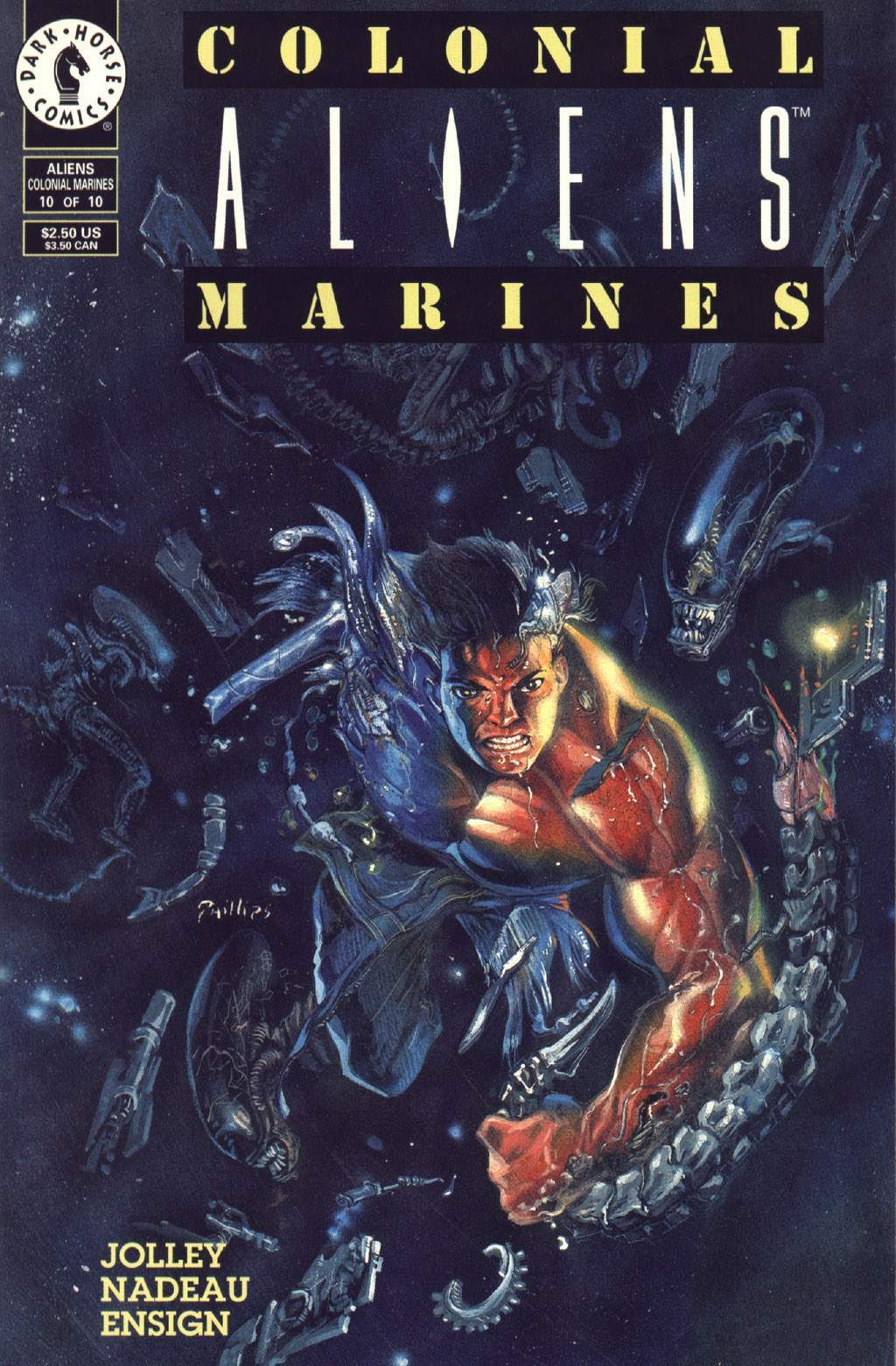 Read online Aliens: Colonial Marines comic -  Issue #10 - 1