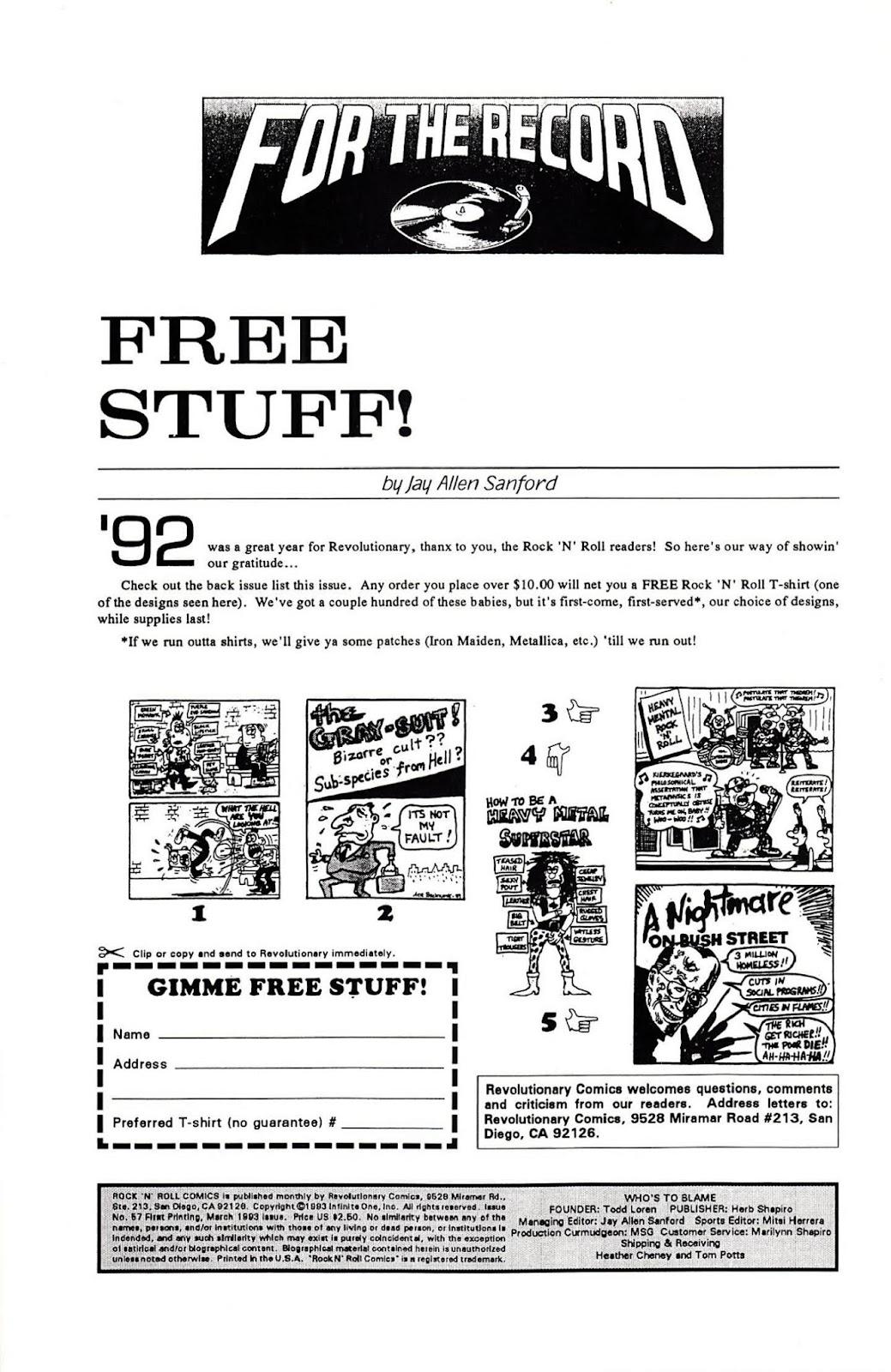 Rock N Roll Comics 57 Page 2