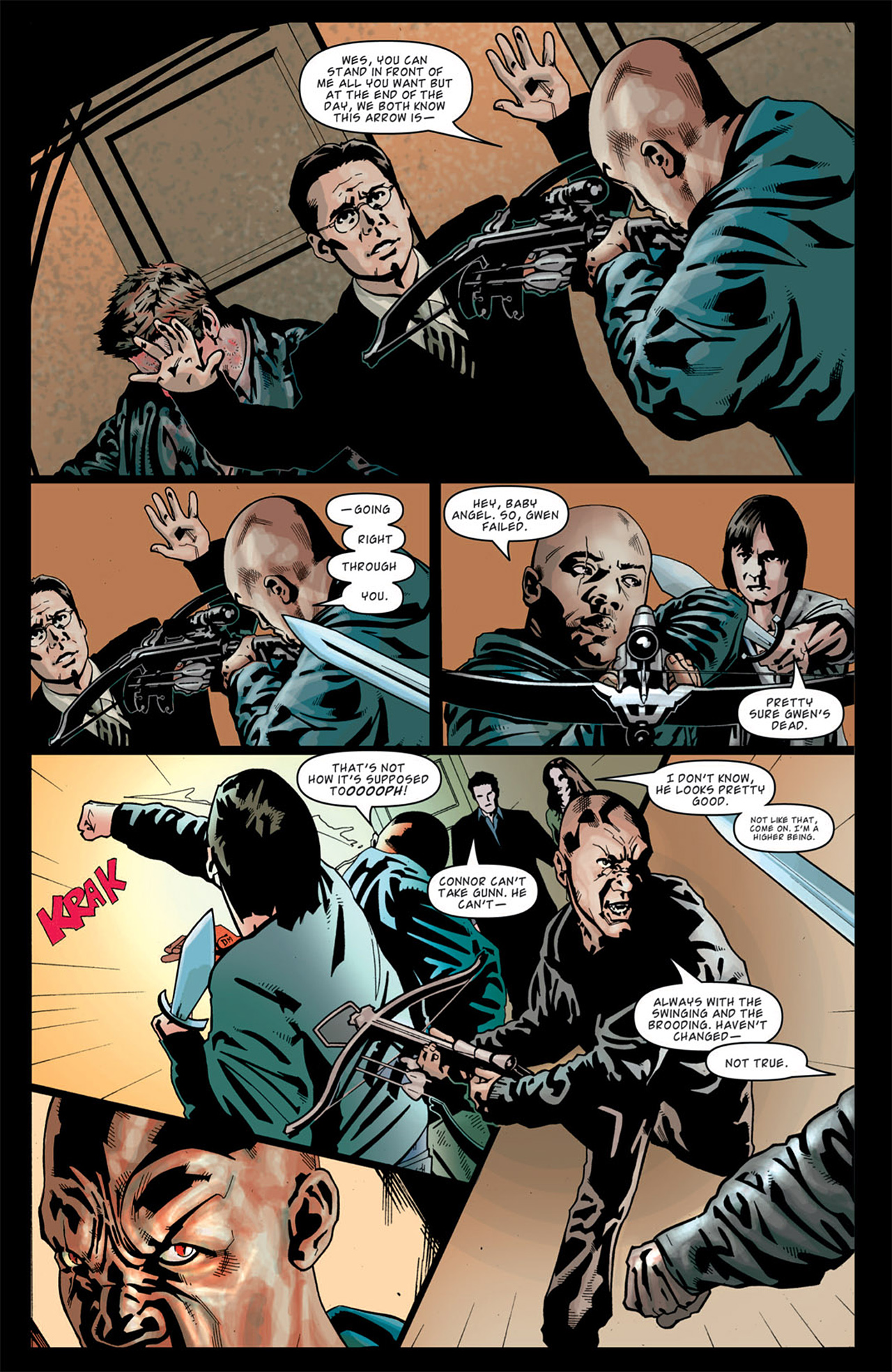 Read online Angel: After The Fall comic -  Issue #13 - 16