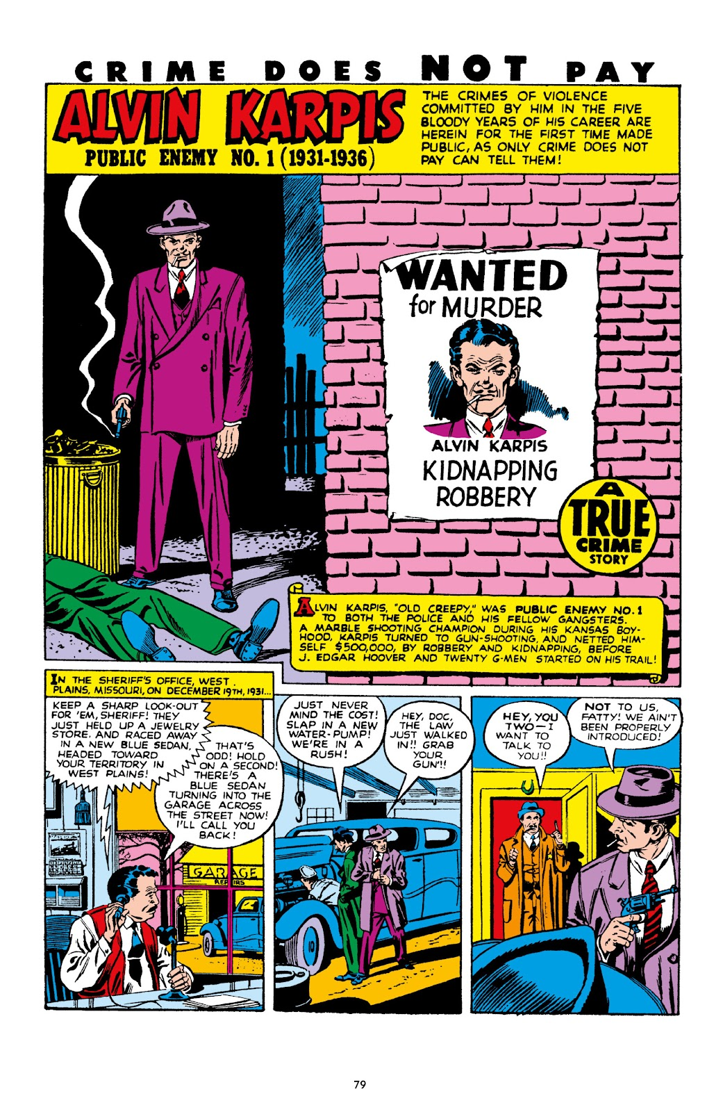 Read online Crime Does Not Pay Archives comic -  Issue # TPB 10 (Part 1) - 81