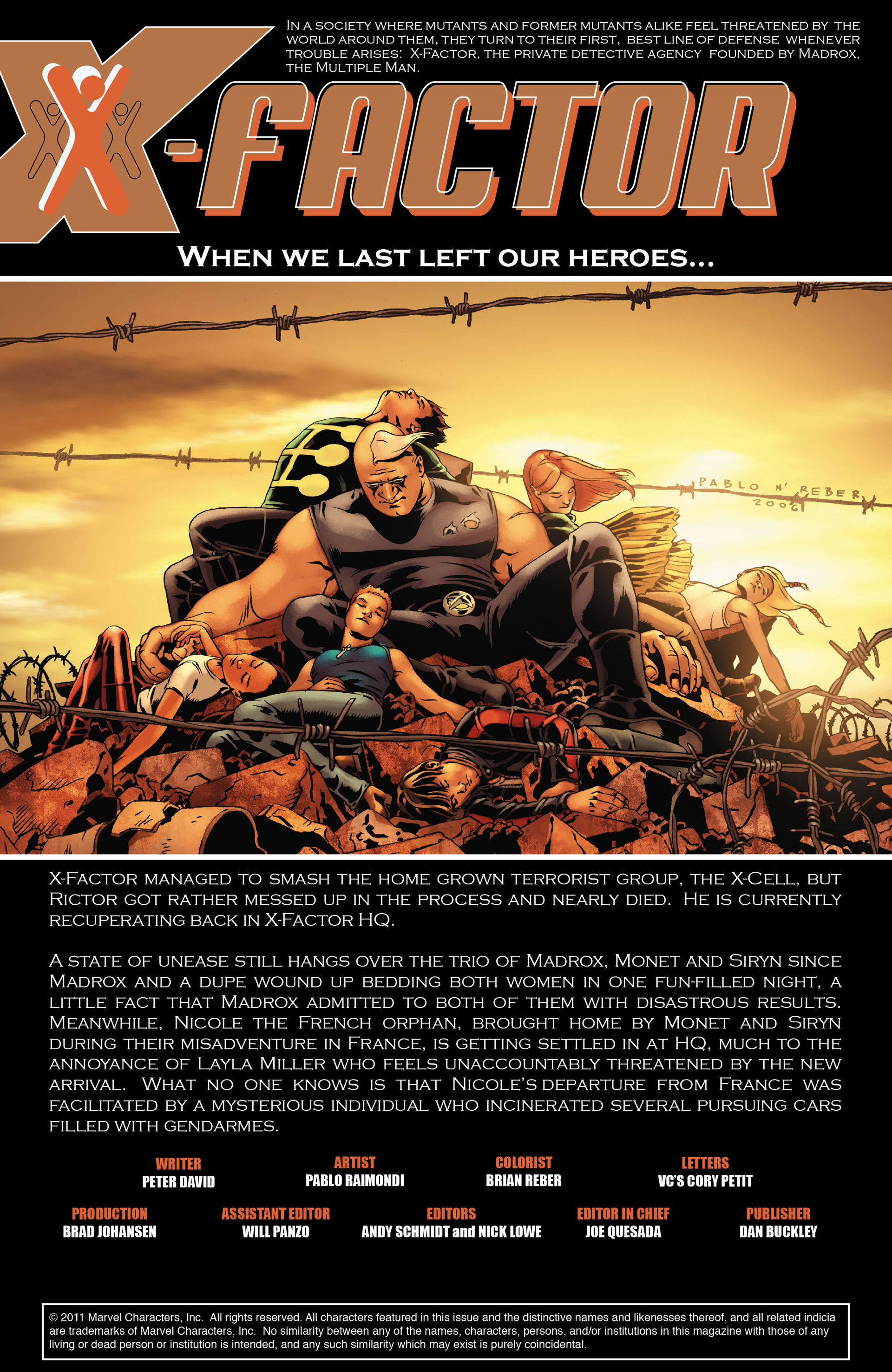 Read online X-Factor (2006) comic -  Issue #21 - 2