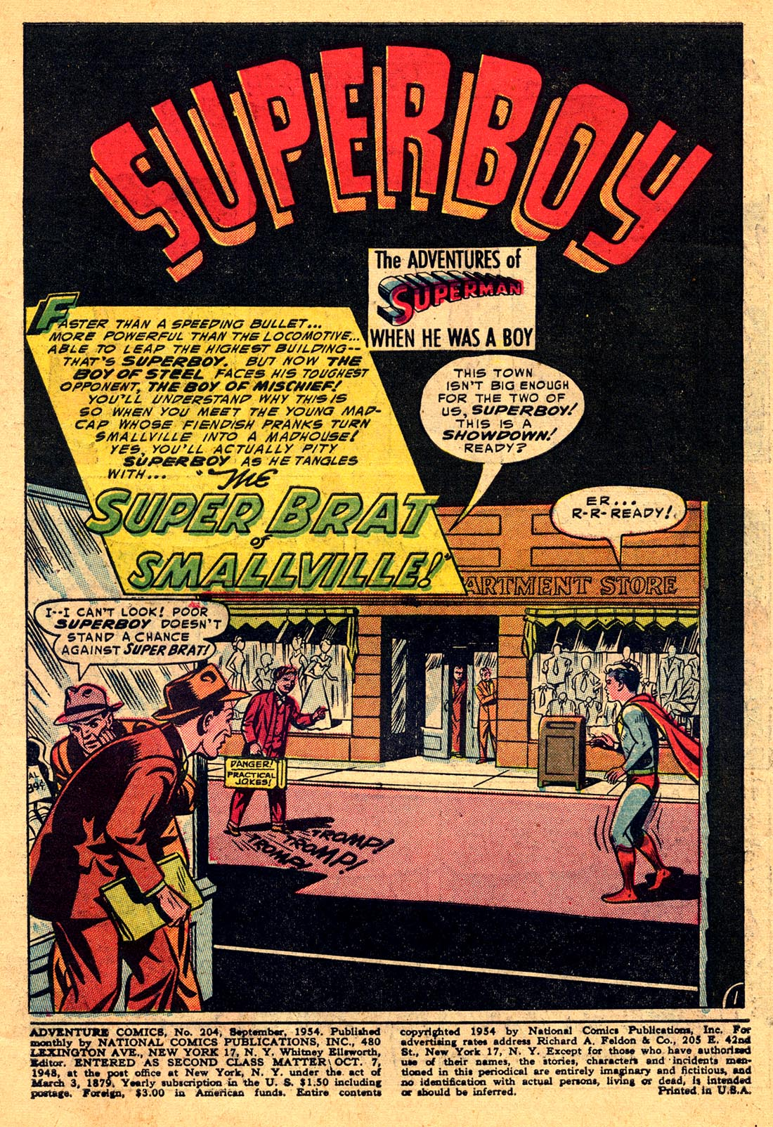 Read online Adventure Comics (1938) comic -  Issue #204 - 3
