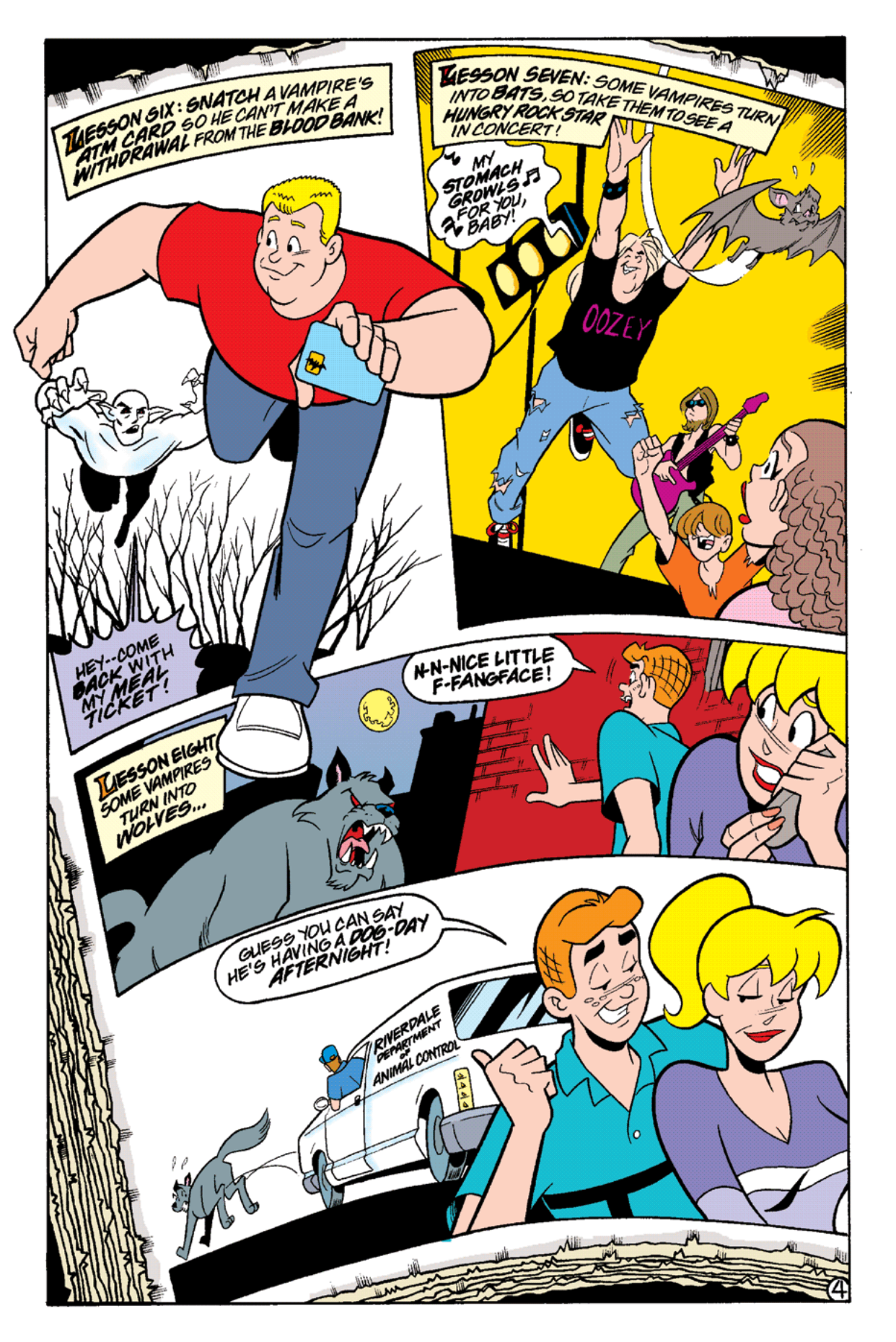 Read online Archie's Weird Mysteries comic -  Issue #15 - 22