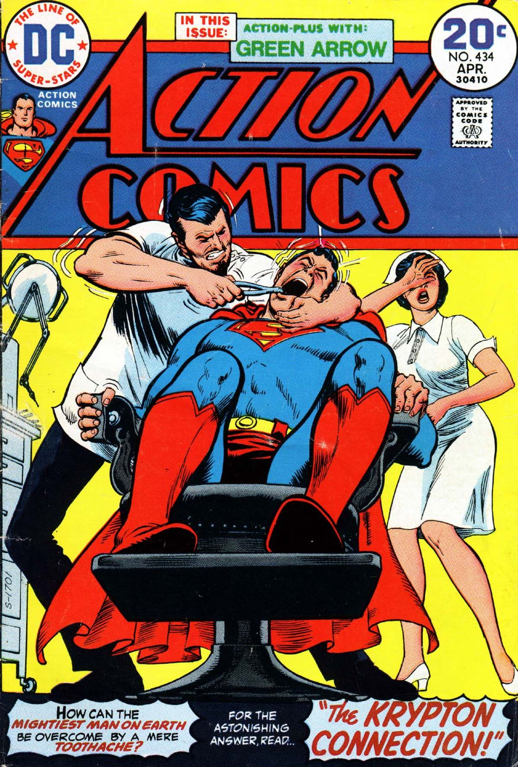 Read online Action Comics (1938) comic -  Issue #434 - 1