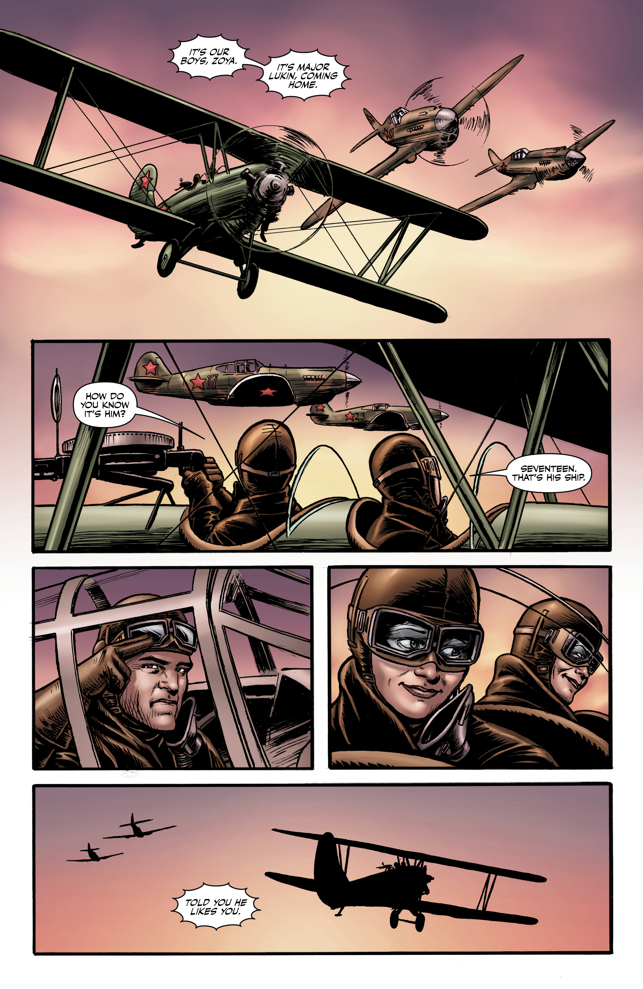 Read online Battlefields: Night Witches comic -  Issue # TPB - 37