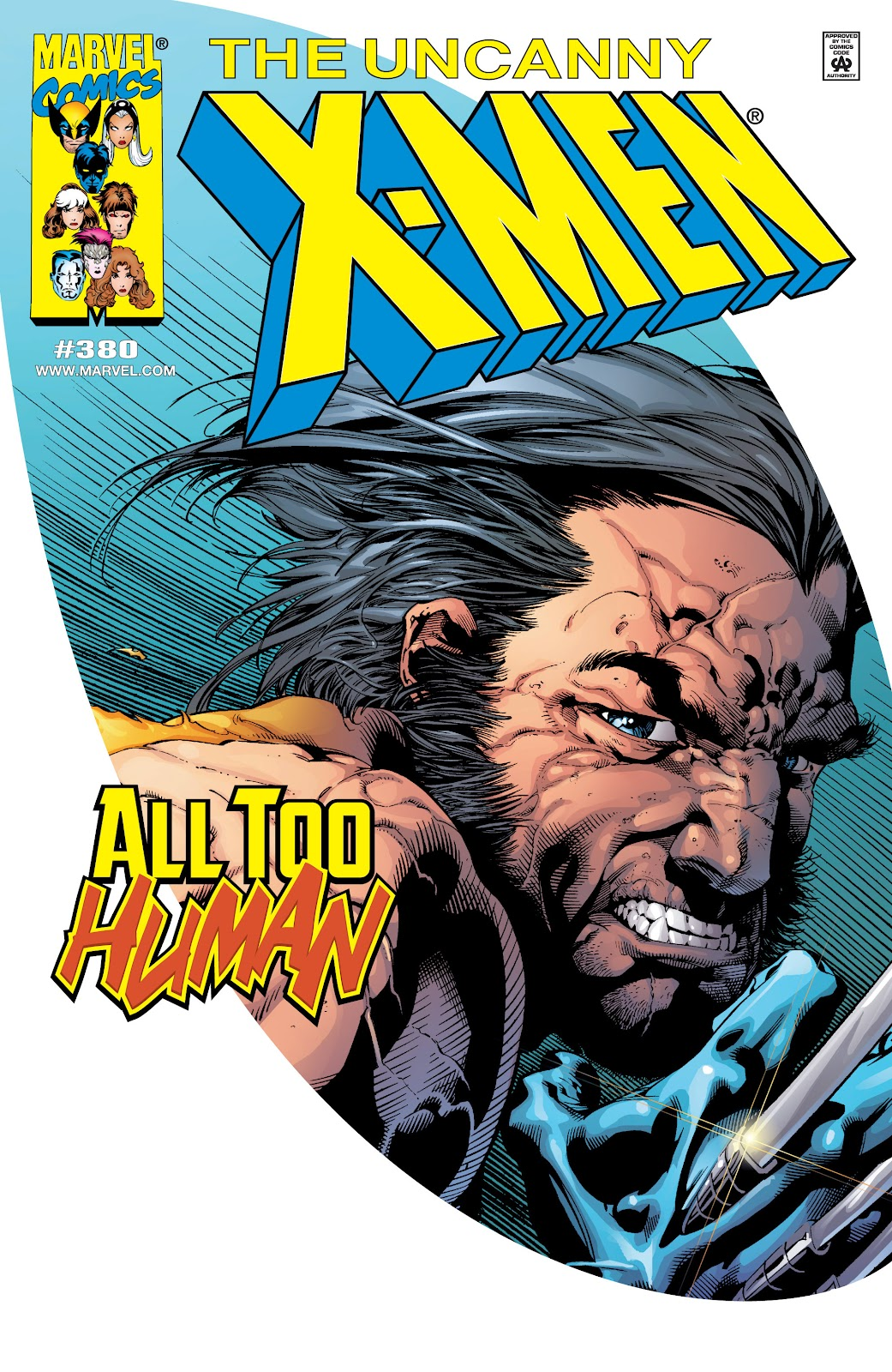 Uncanny X-Men (1963) issue 380 - Page 1
