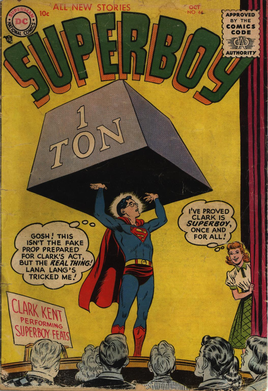 Superboy (1949) issue 44 - Page 1