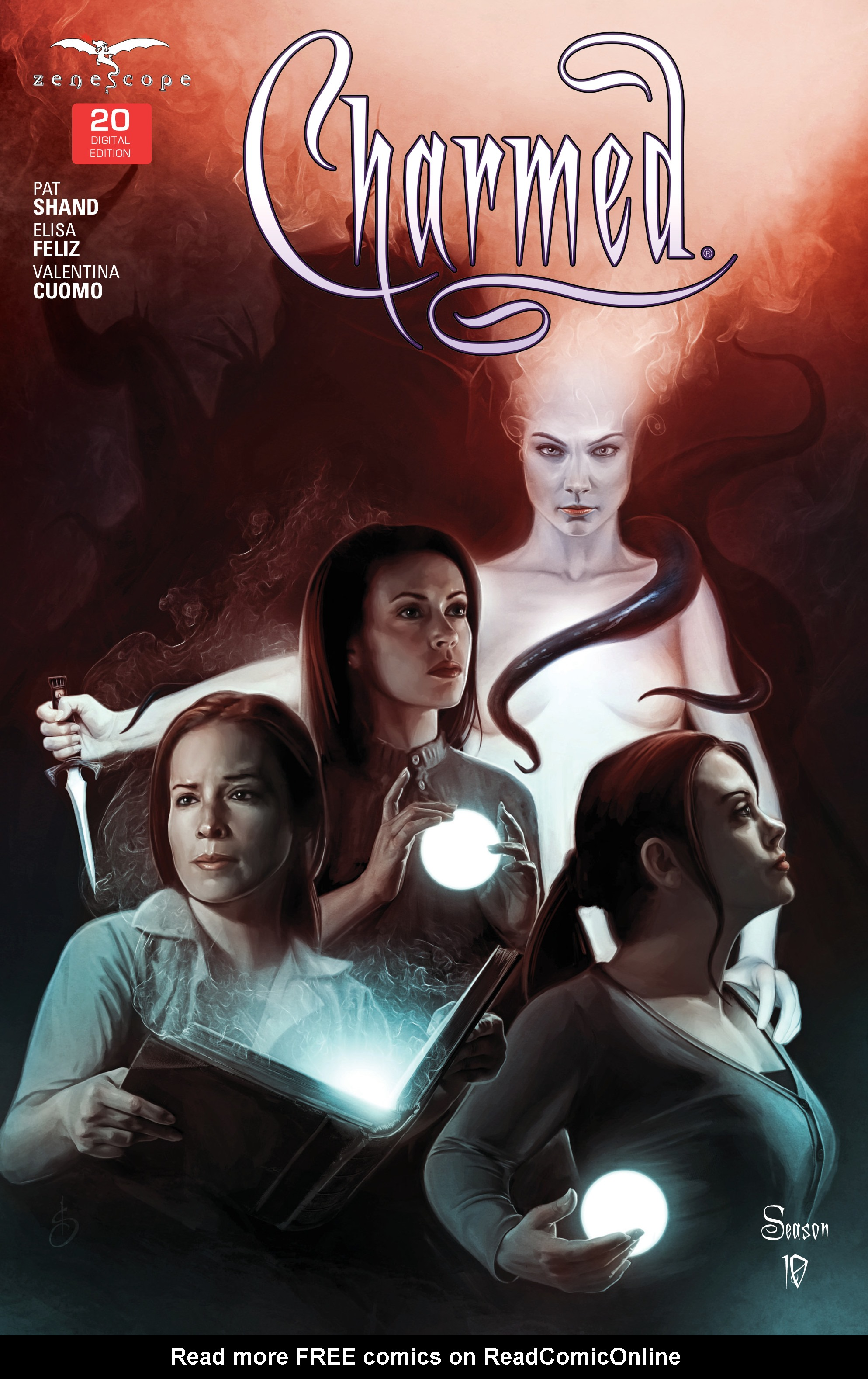 Charmed Season 10 issue 20 - Page 1