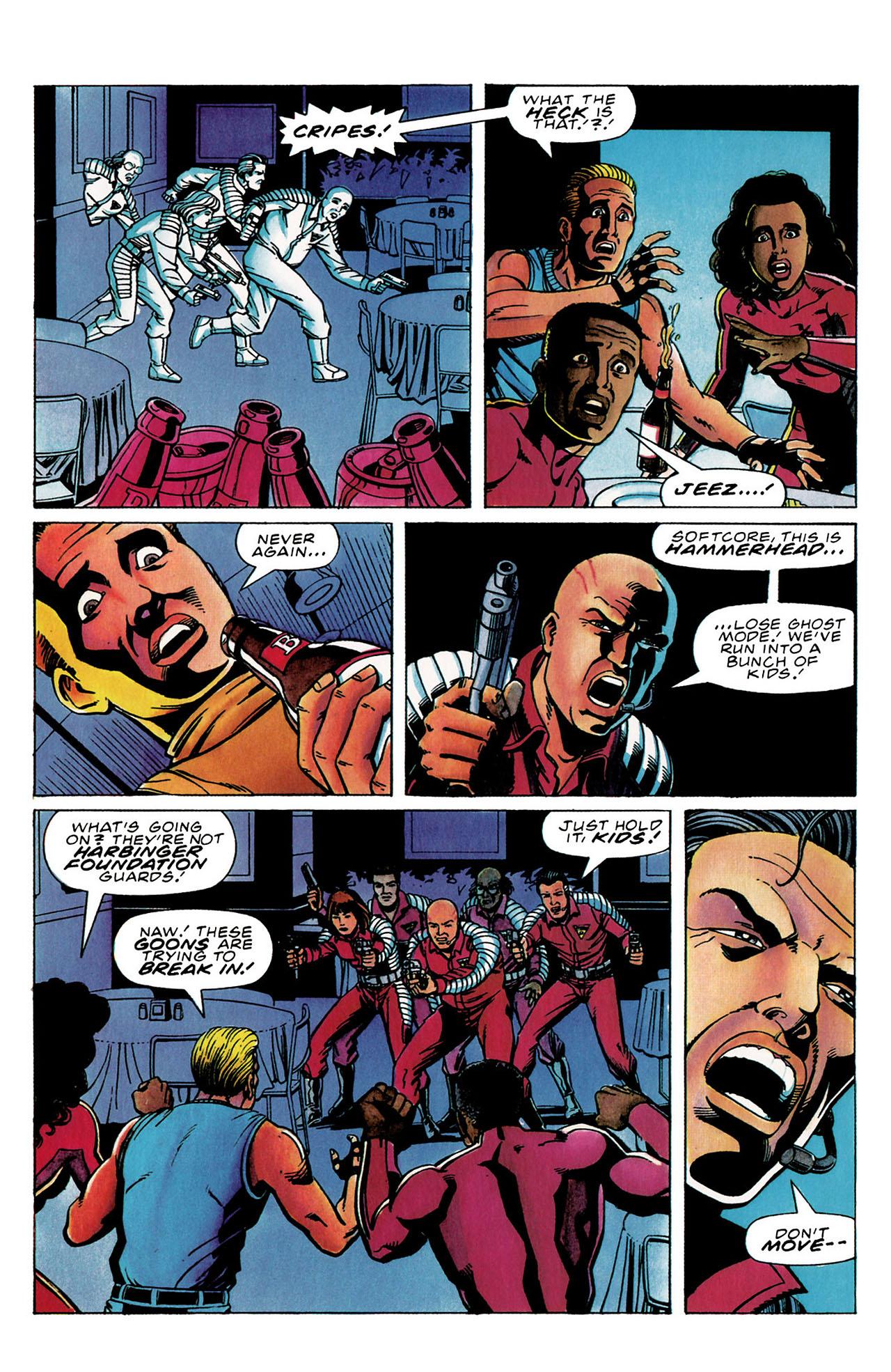 Read online Harbinger (1992) comic -  Issue #30 - 16