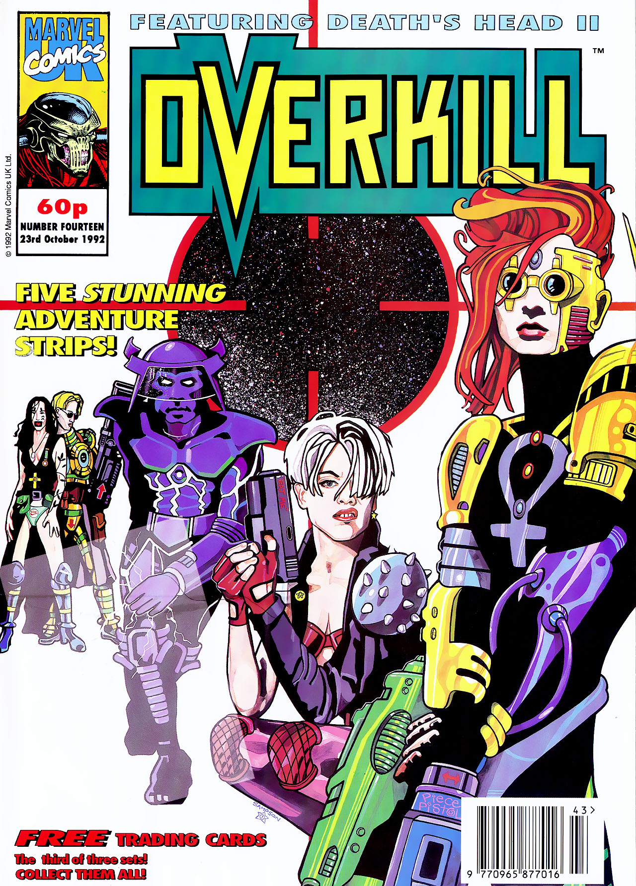 Read online Overkill comic -  Issue #14 - 1