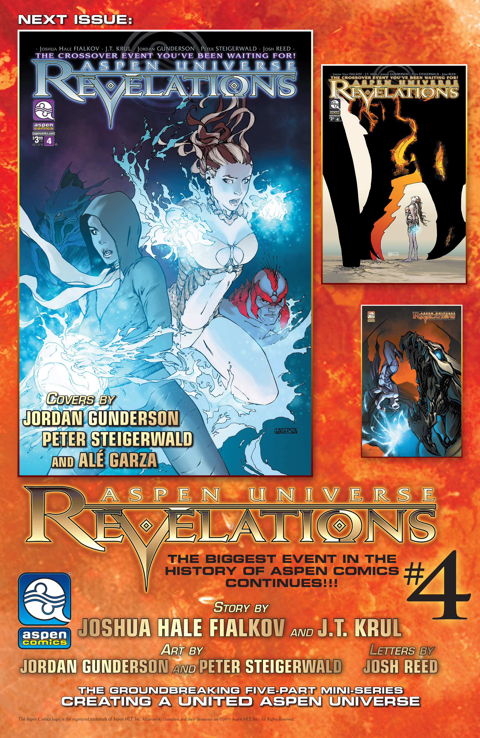 Read online Aspen Universe: Revelations comic -  Issue #3 - 24