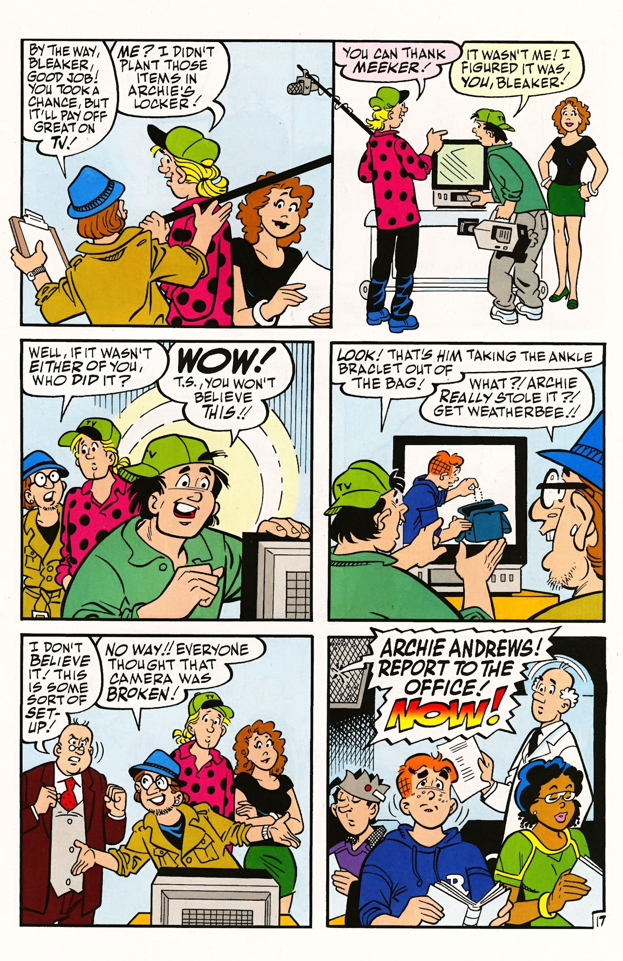 Read online Archie (1960) comic -  Issue #597 - 25