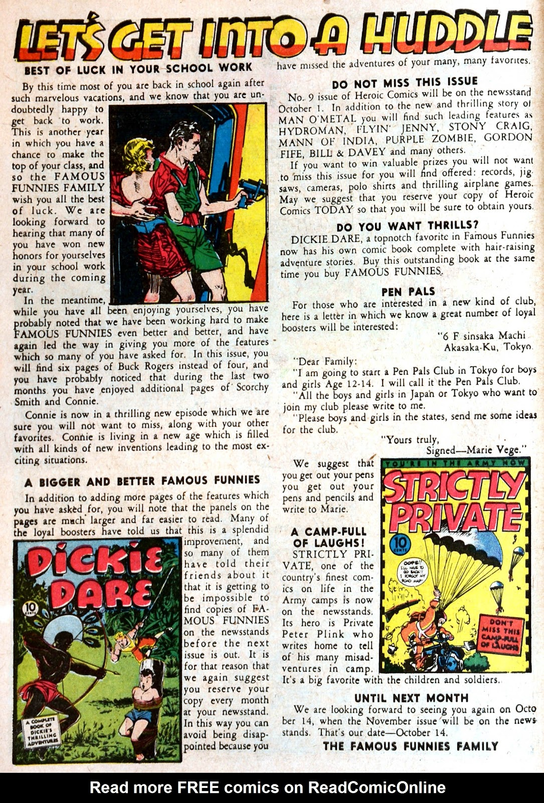 Read online Famous Funnies comic -  Issue #87 - 10