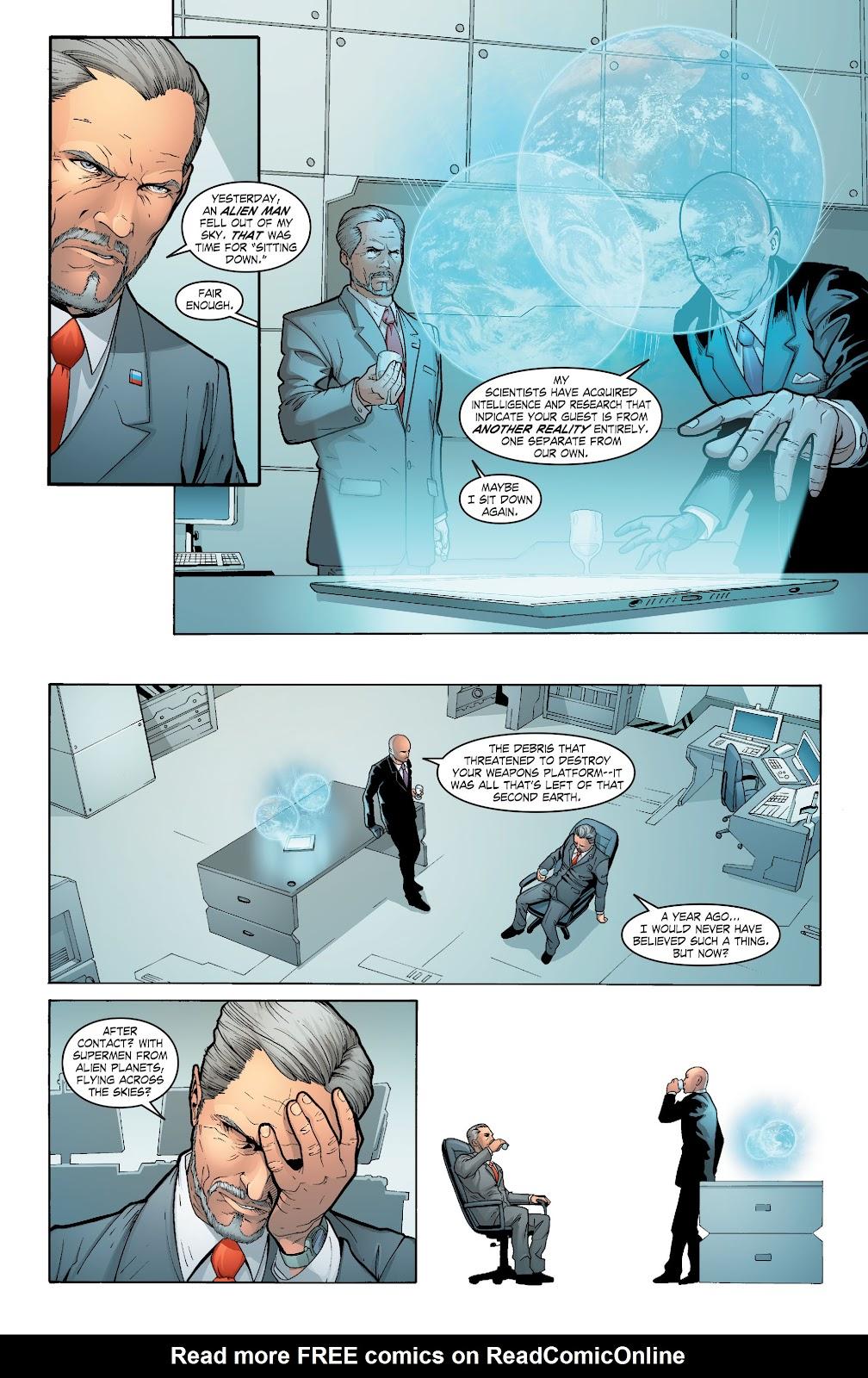 Read online Smallville Season 11 [II] comic -  Issue # TPB 6 - 92
