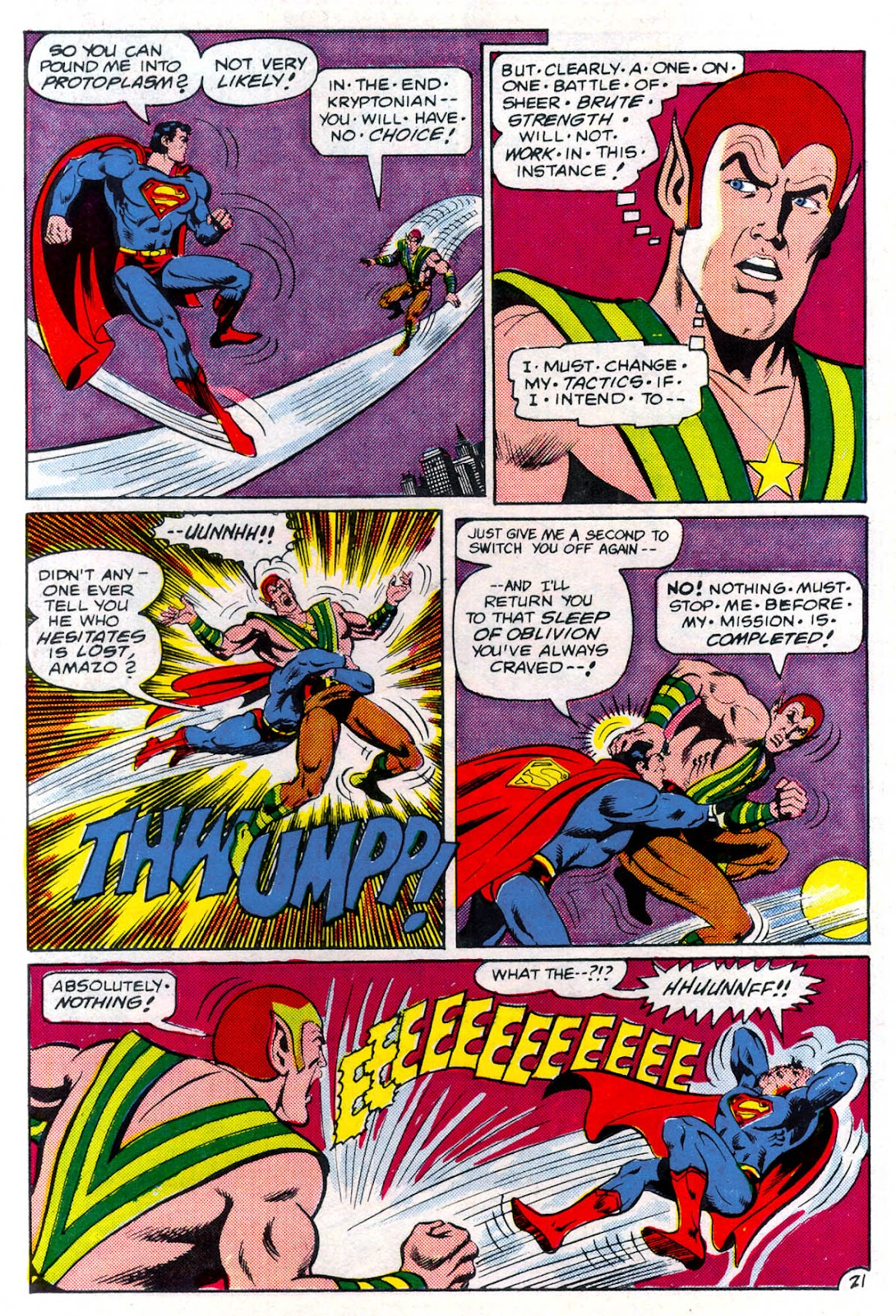 Read online Superman Special (1983) comic -  Issue #3 - 22