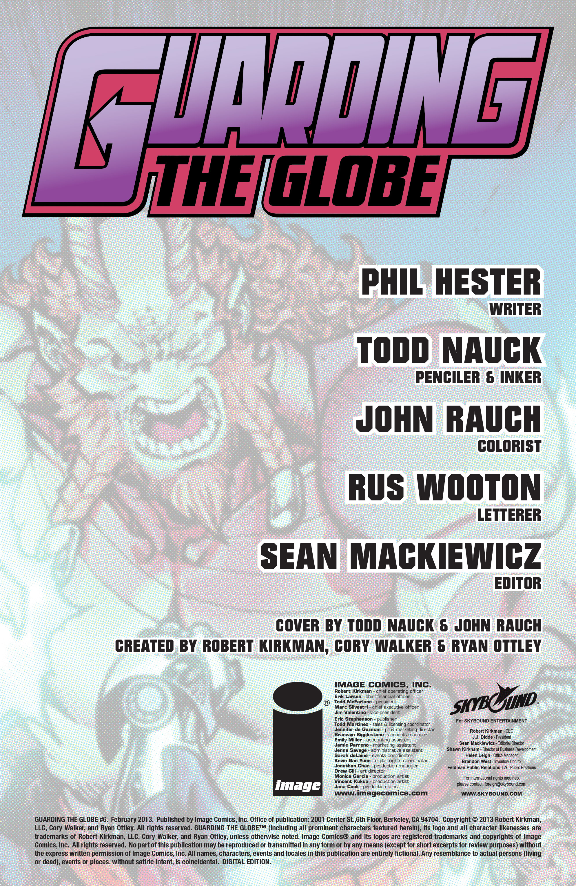 Read online Guarding the Globe (2012) comic -  Issue #6 - 2