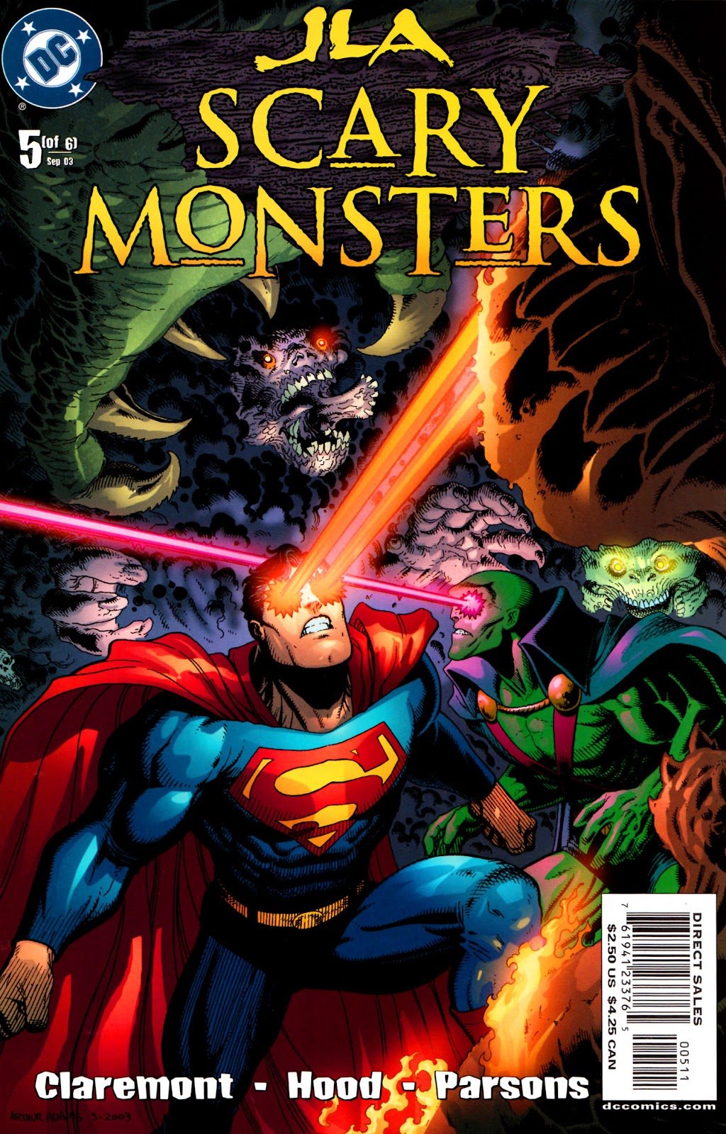 JLA: Scary Monsters issue 5 - Page 1