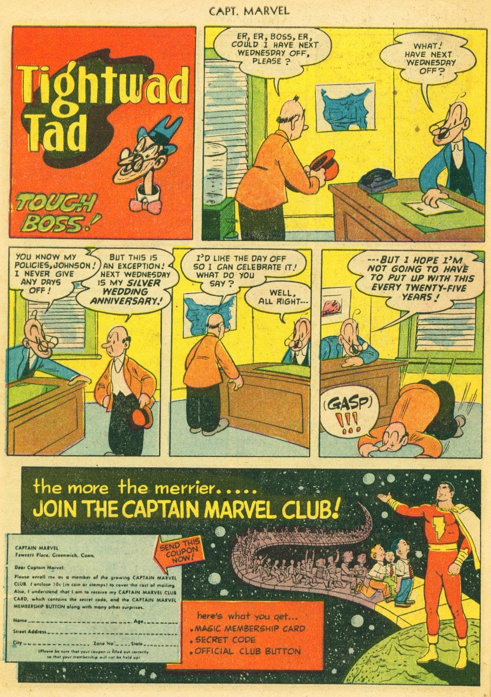 Captain Marvel Adventures issue 133 - Page 10
