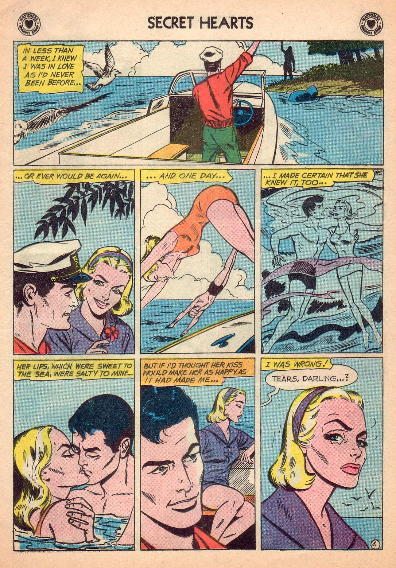 Read online Secret Hearts comic -  Issue #63 - 13