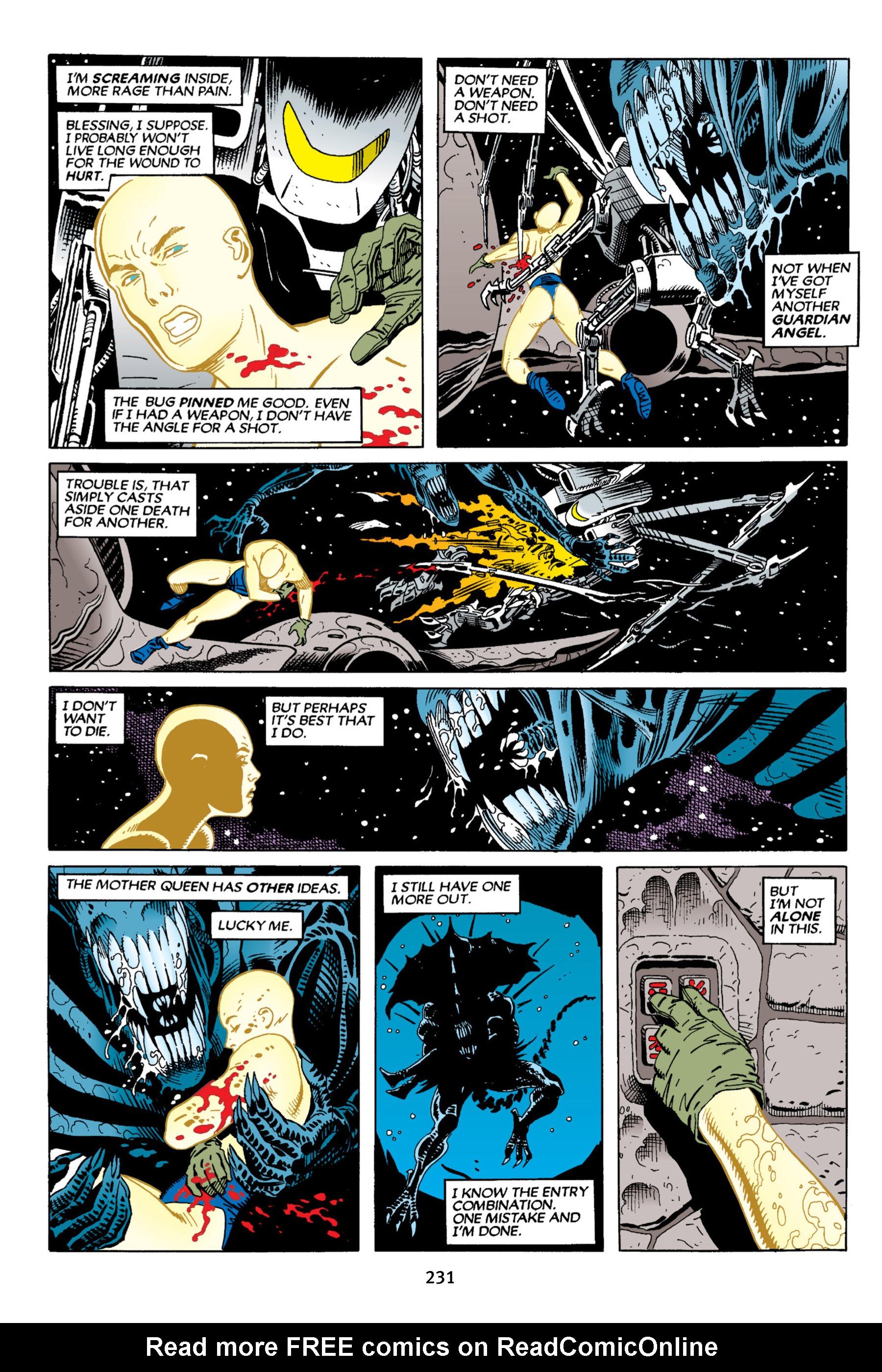 Read online Aliens vs. Predator Omnibus comic -  Issue # _TPB 2 Part 3 - 8