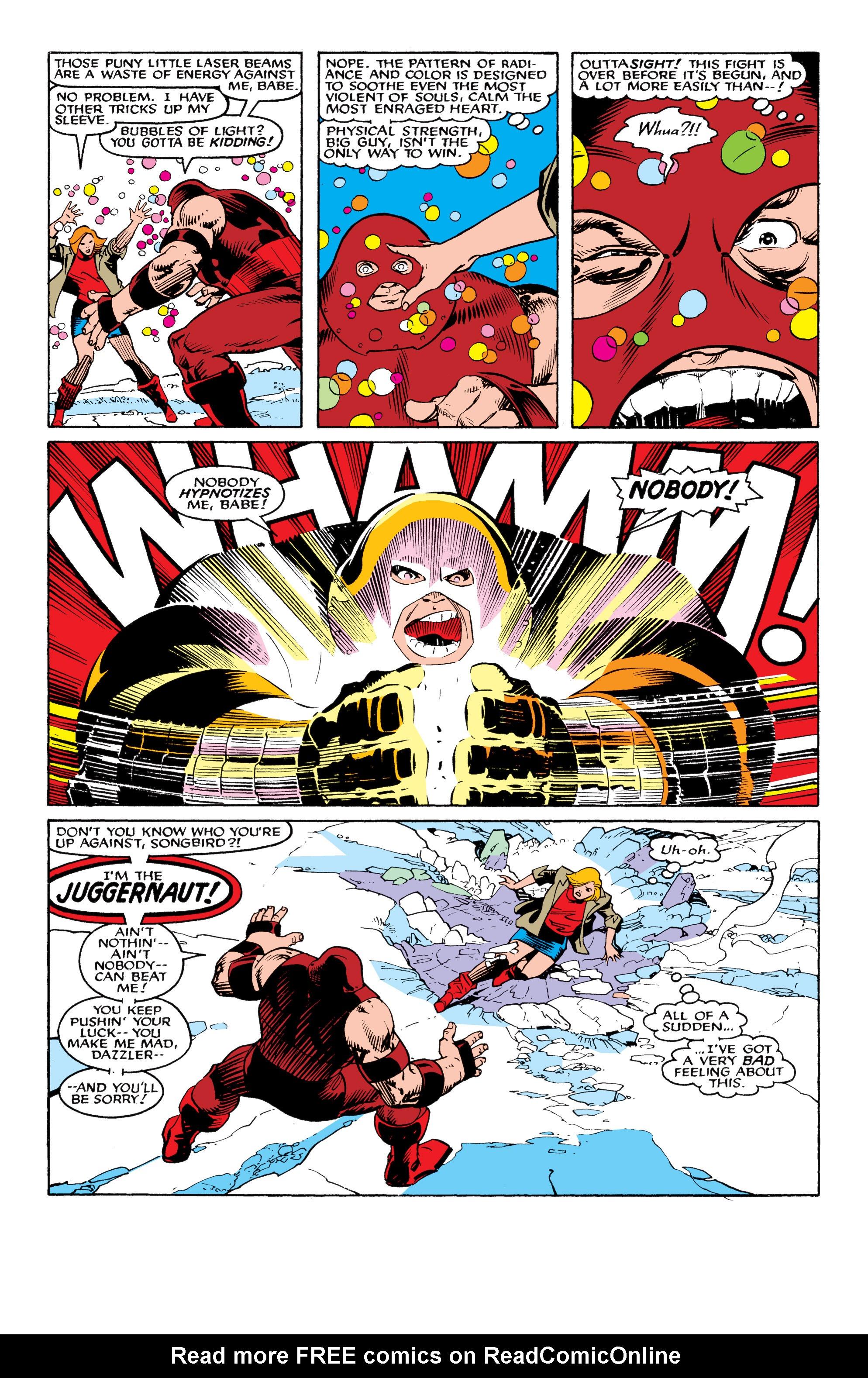 Read online Uncanny X-Men (1963) comic -  Issue #217 - 18