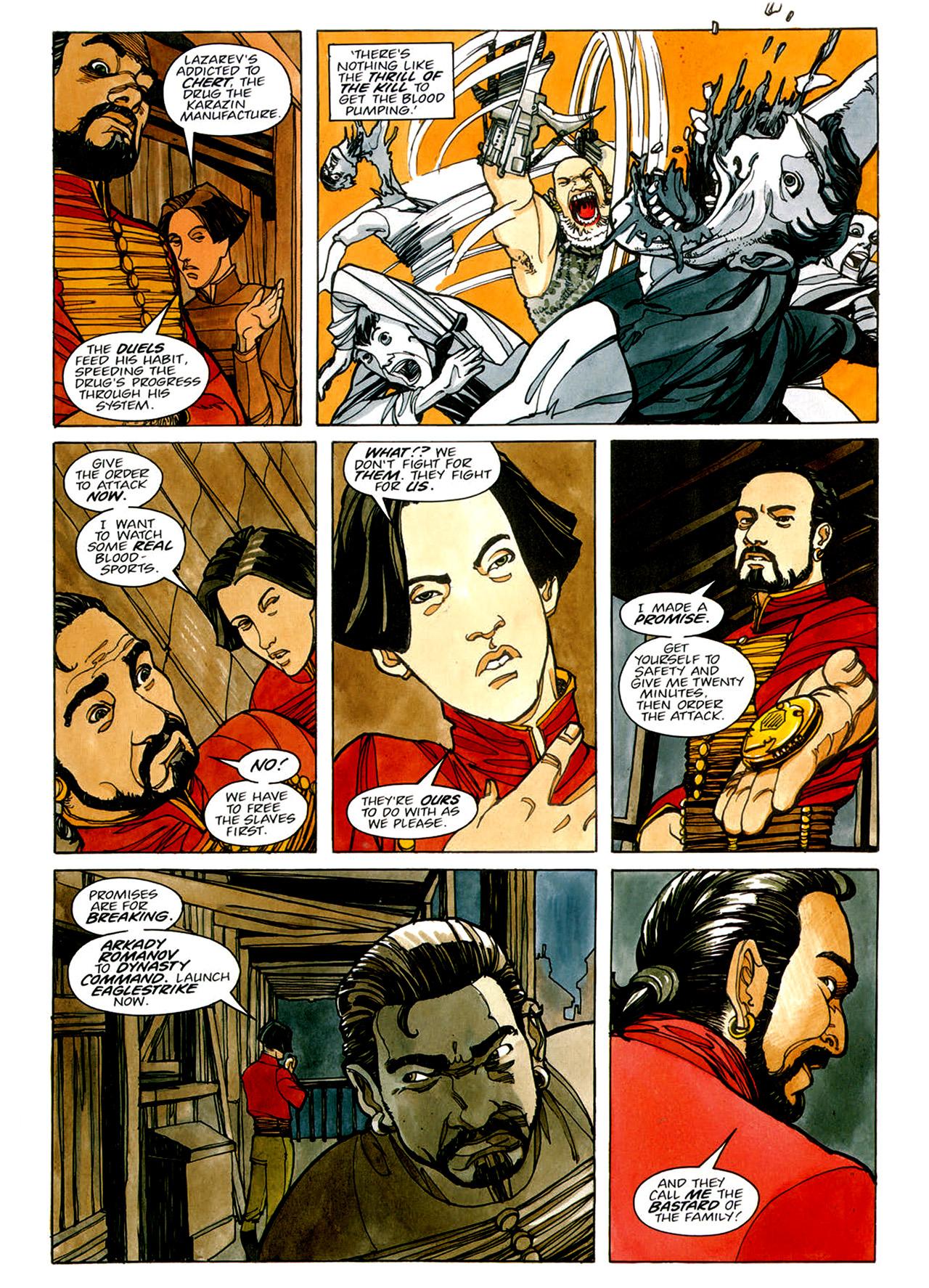 Read online Nikolai Dante comic -  Issue # TPB 1 - 74