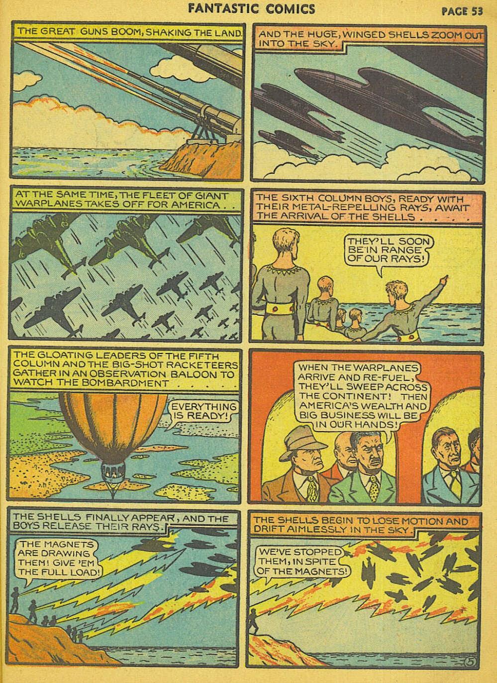 Read online Fantastic Comics comic -  Issue #15 - 48