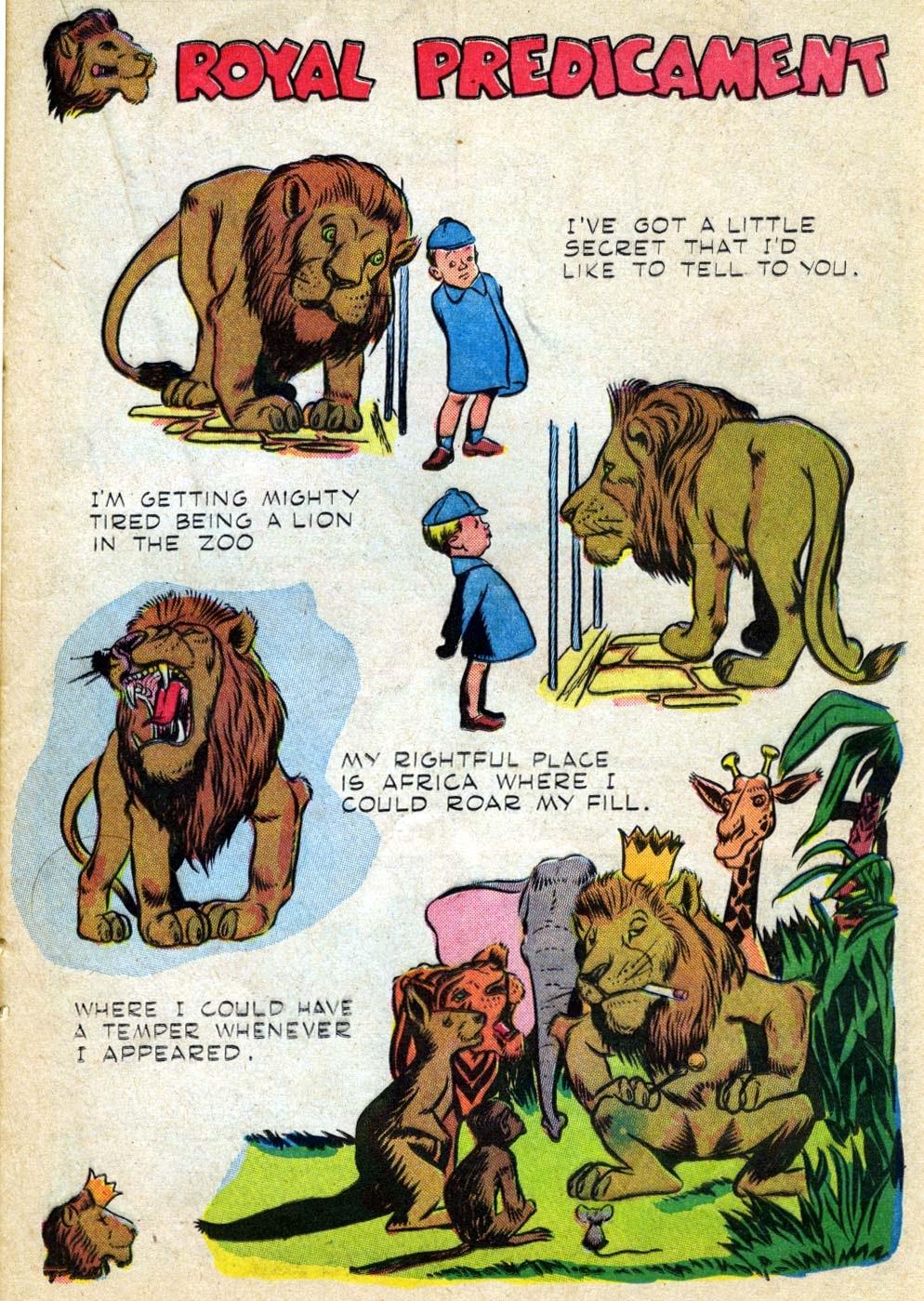 Read online Animal Comics comic -  Issue #22 - 31