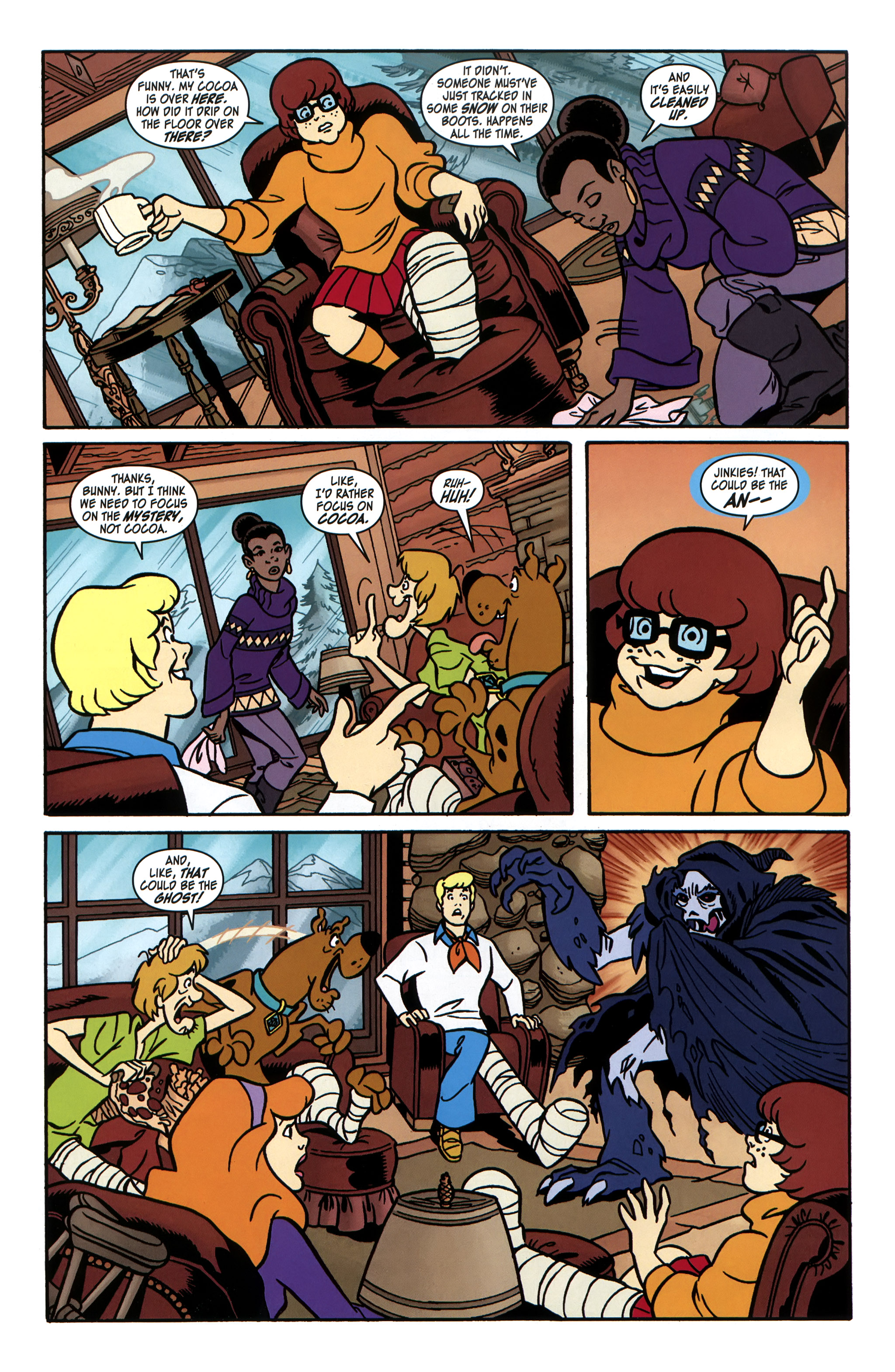 Read online Scooby-Doo: Where Are You? comic -  Issue #31 - 10