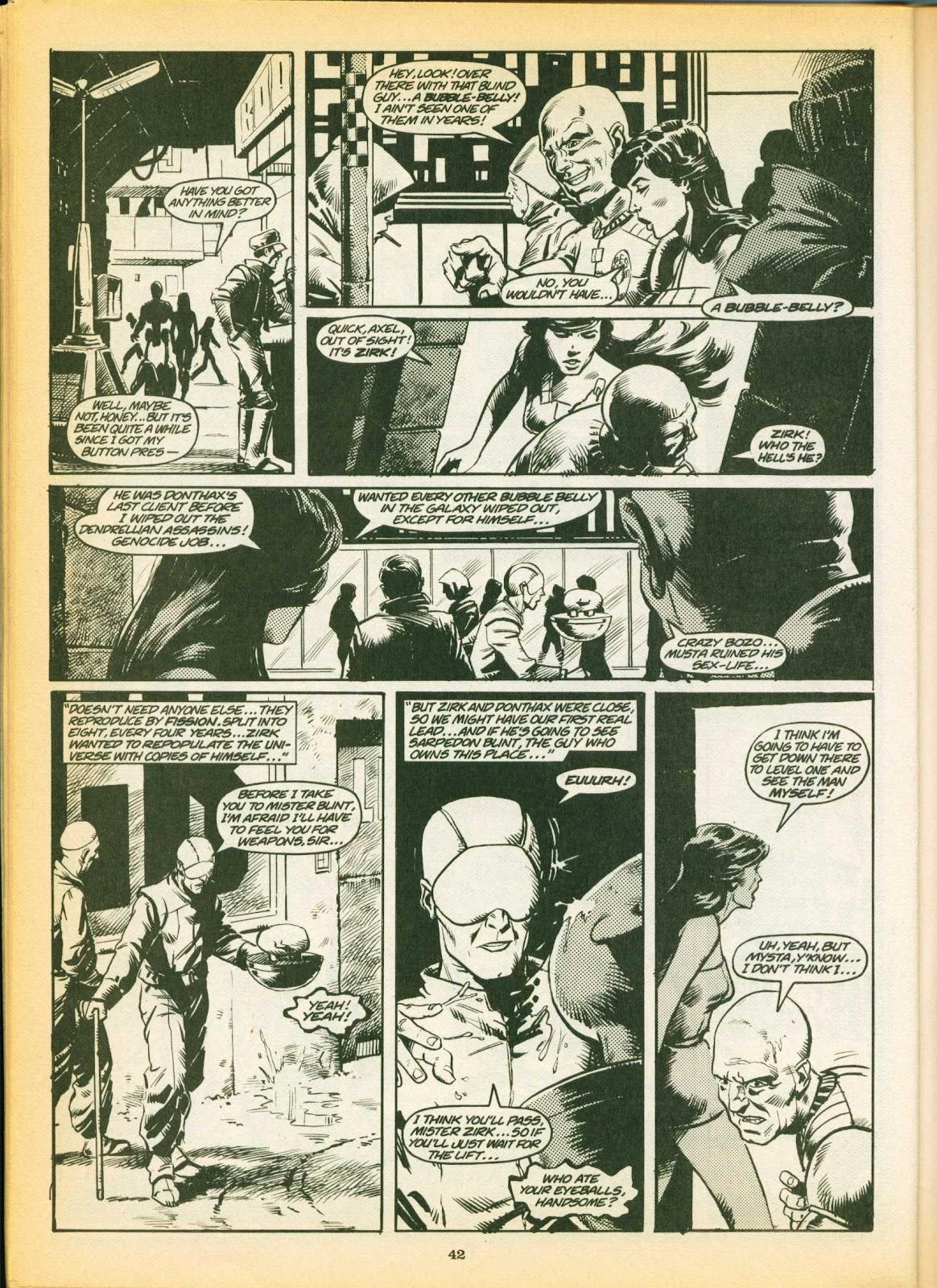 Warrior Issue #7 #8 - English 42