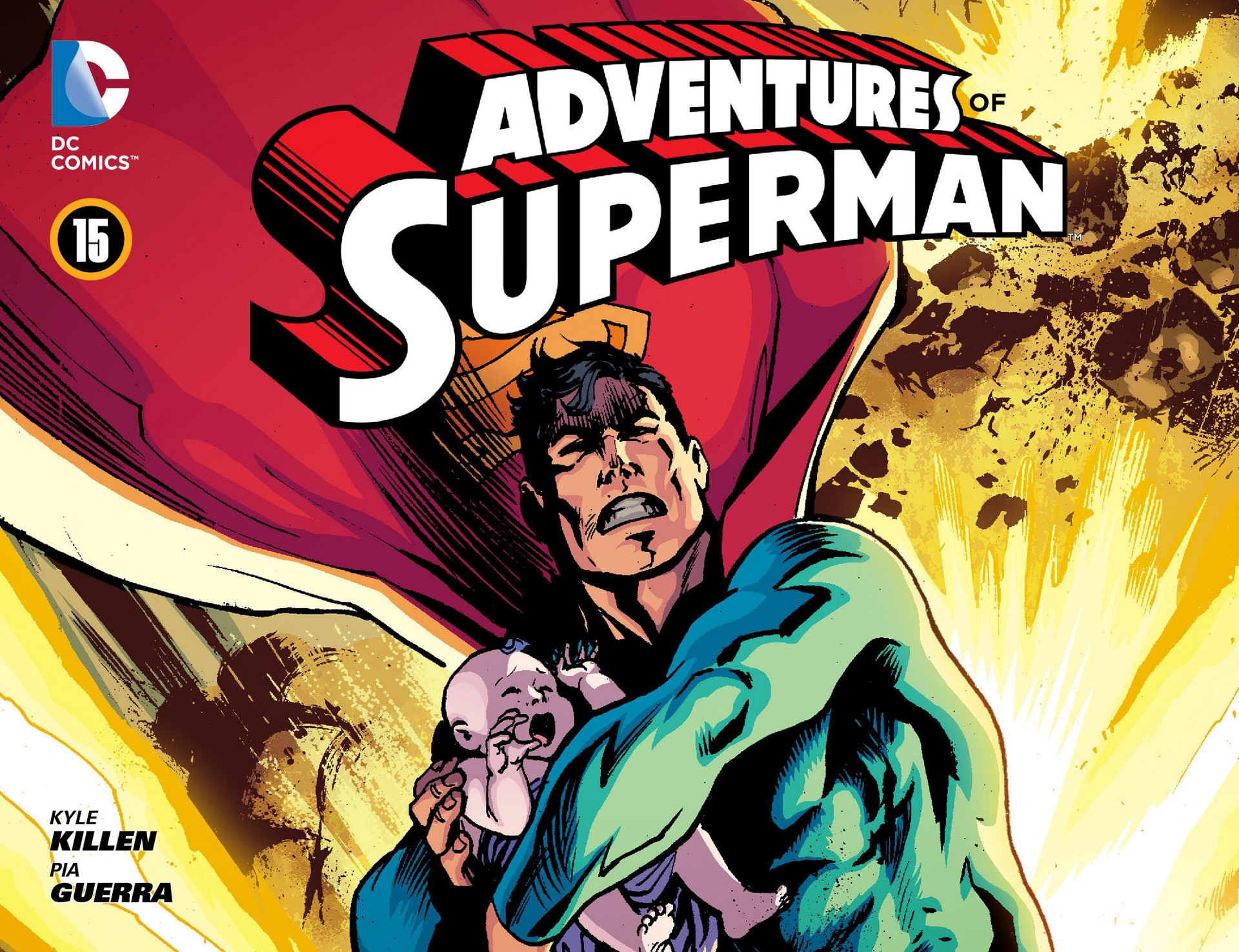 Read online Adventures of Superman [I] comic -  Issue #15 - 1