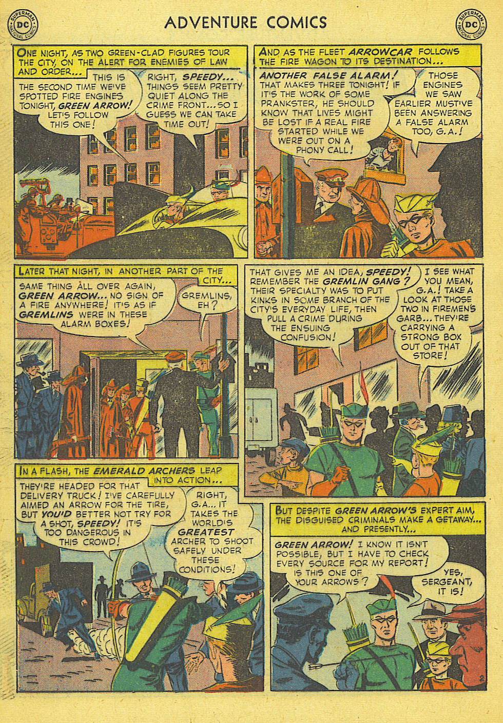 Read online Adventure Comics (1938) comic -  Issue #165 - 30