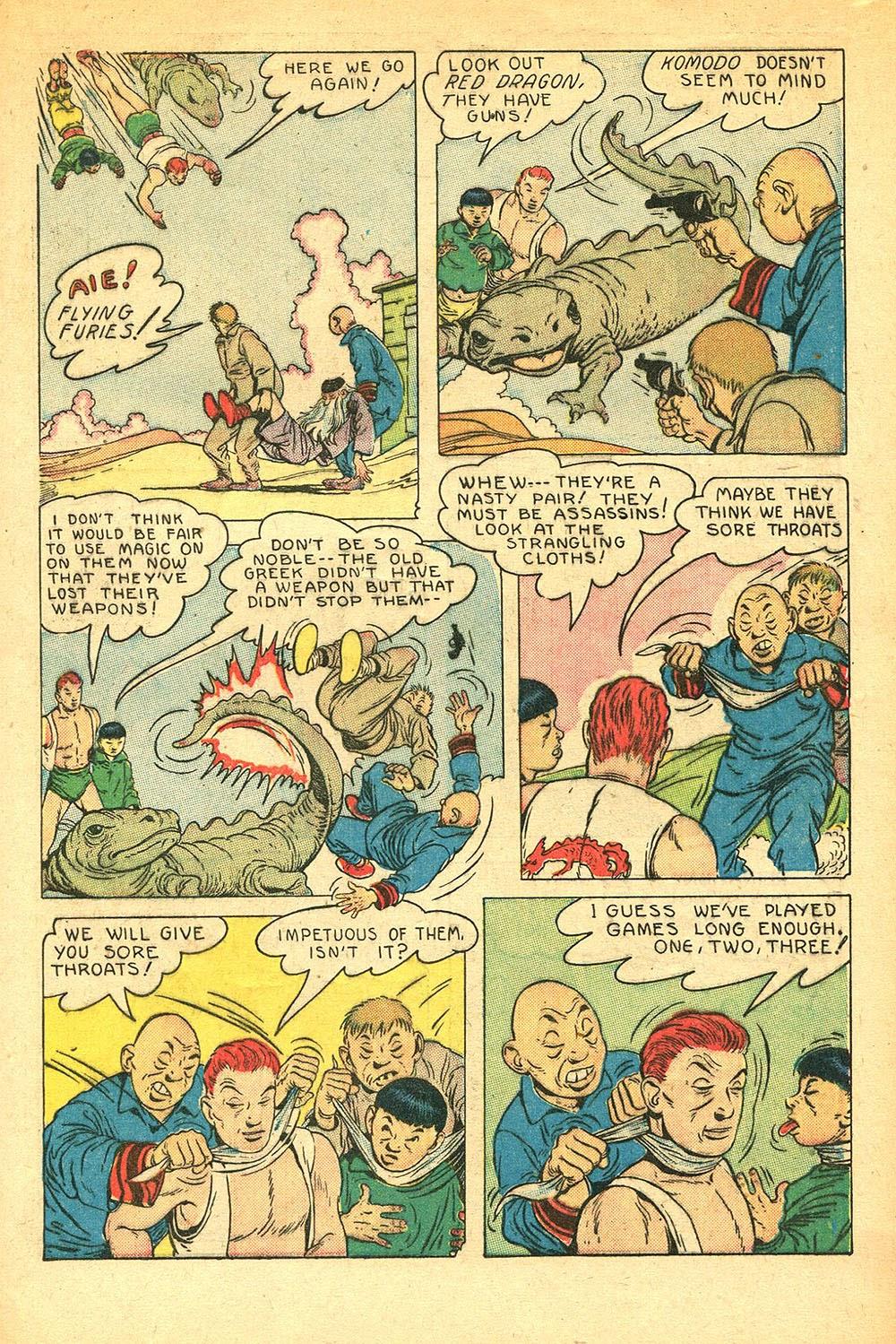 Read online Super-Magician Comics comic -  Issue #56 - 13
