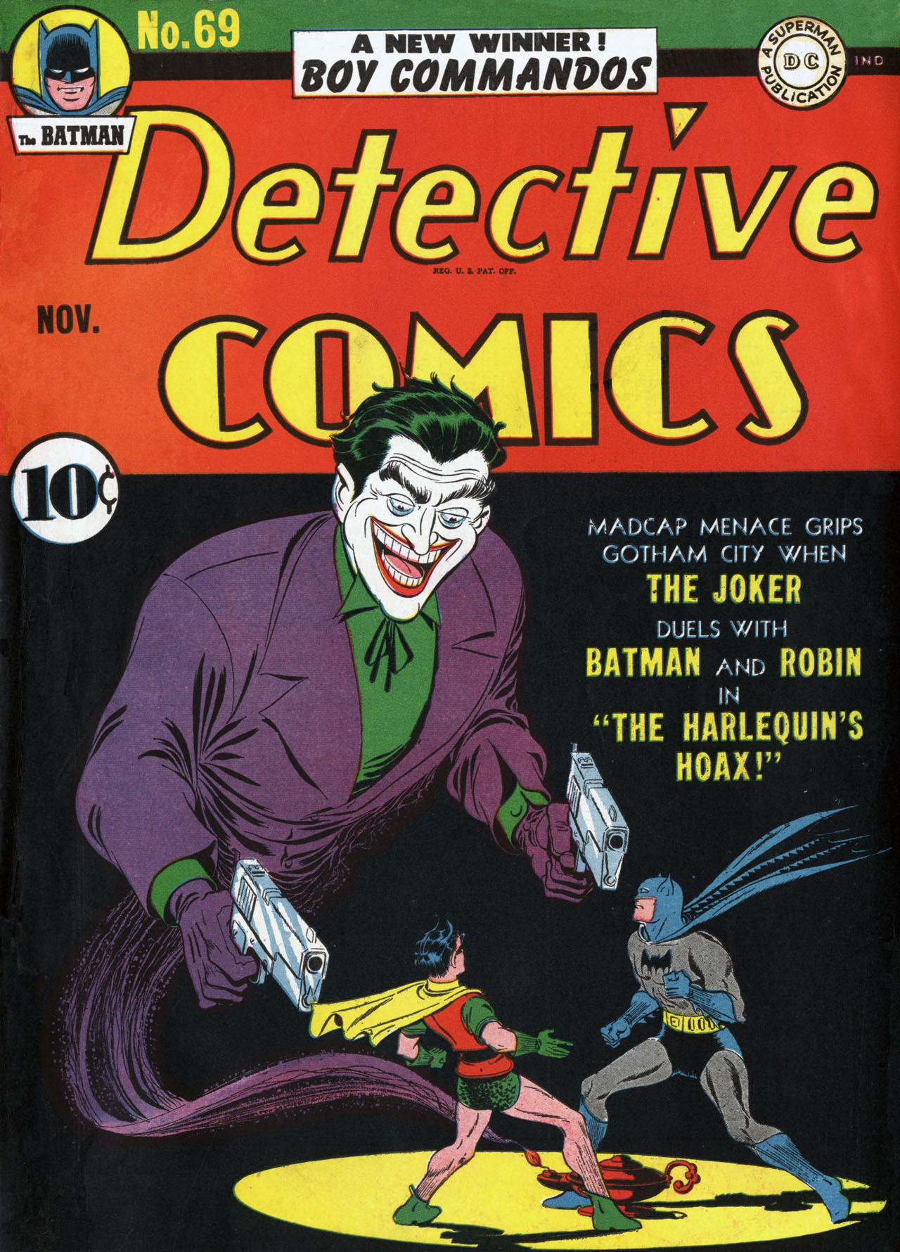 Detective Comics (1937) 69 Page 1
