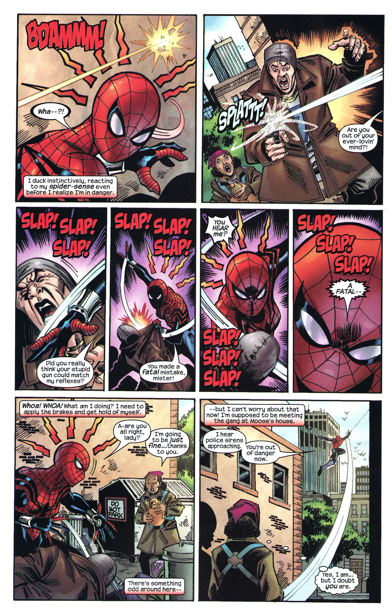 Read online Amazing Spider-Girl comic -  Issue #14 - 15